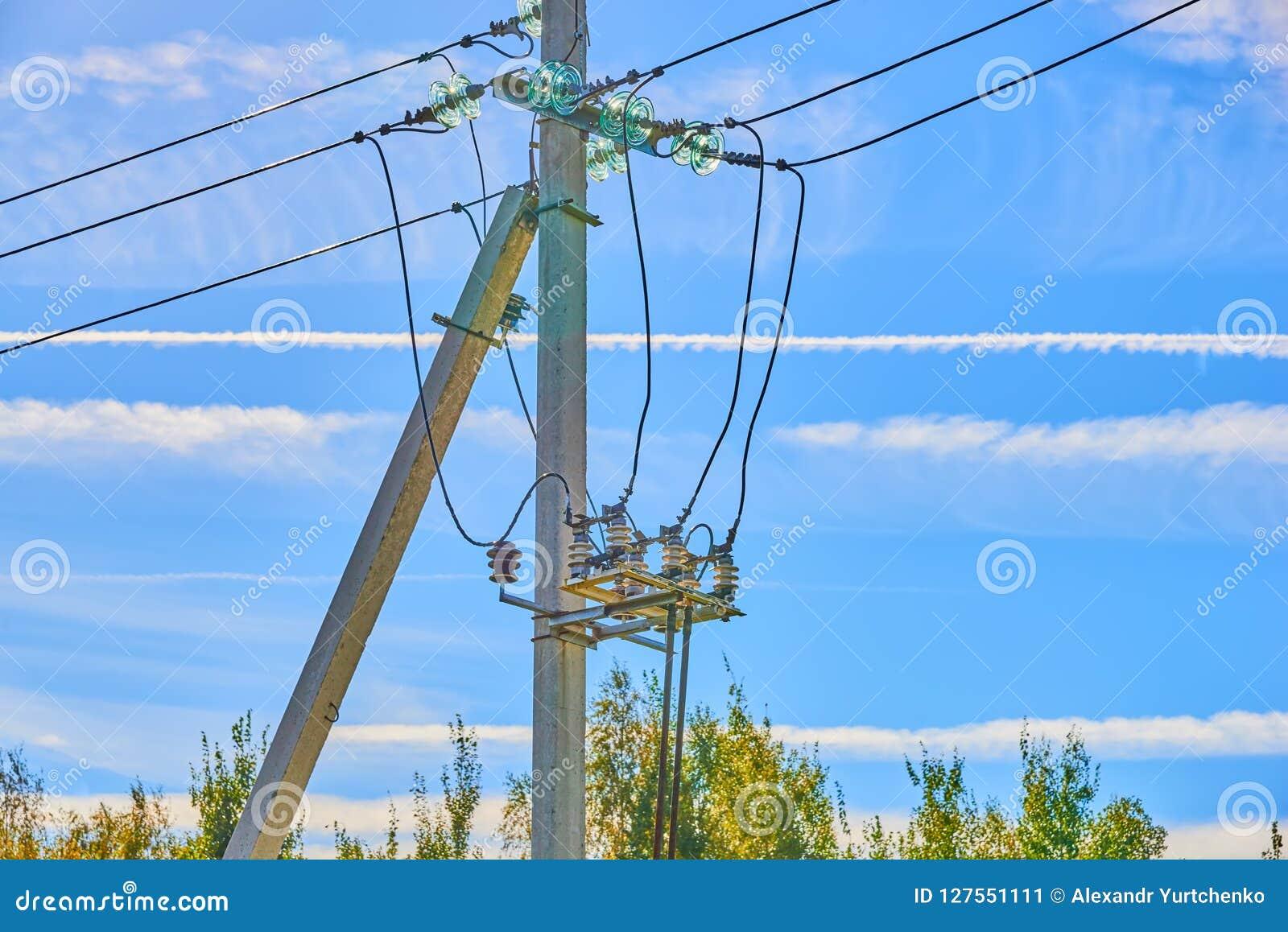 Elektryczni wysocy woltaży lonty