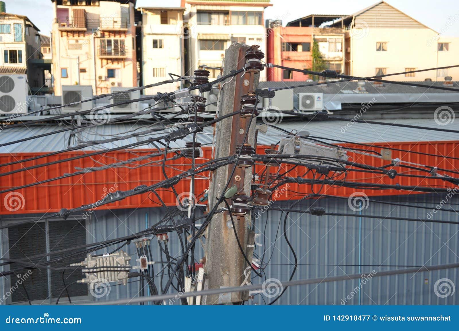 Elektryczny s?up w Pattaya