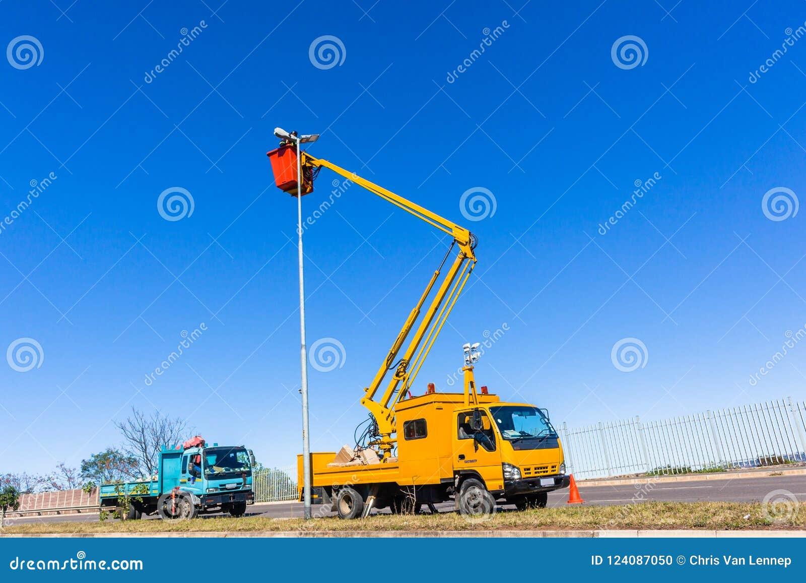 Elektryk Wysokiej drogi lekkich ciężarówek naprawy