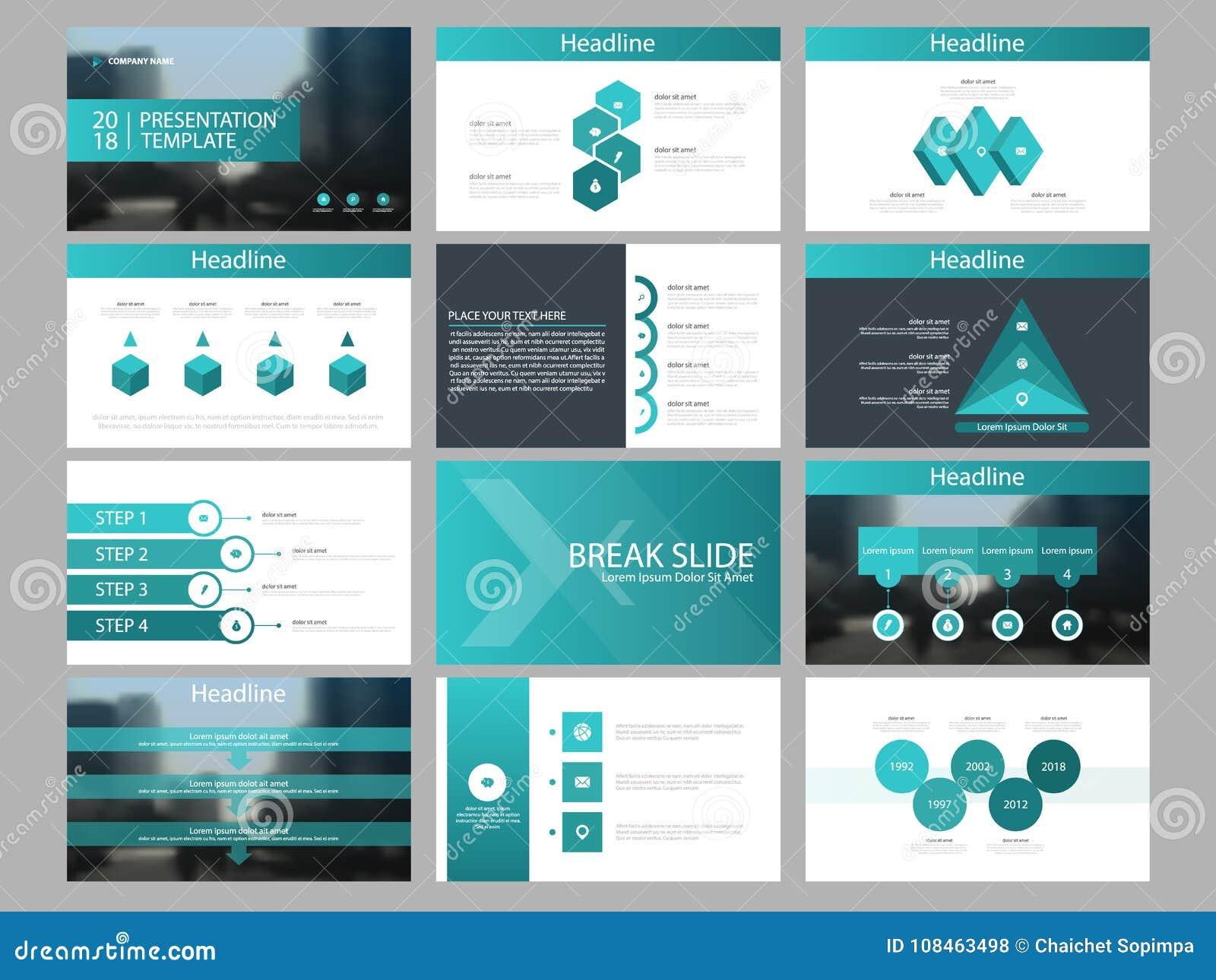 Element-Darstellungsschablone grünen Dreieck Bündels infographic Geschäftsjahresbericht, Broschüre, Broschüre, Reklamehandzettel,