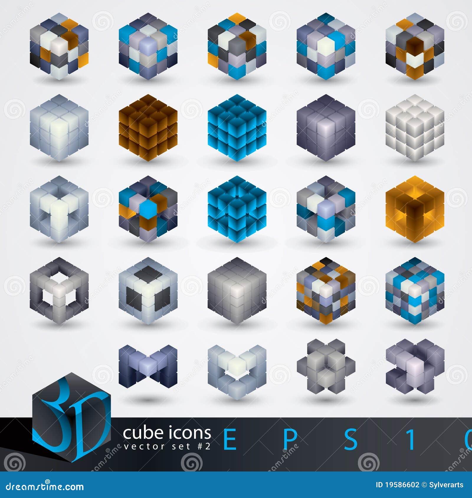 Element för design 3d