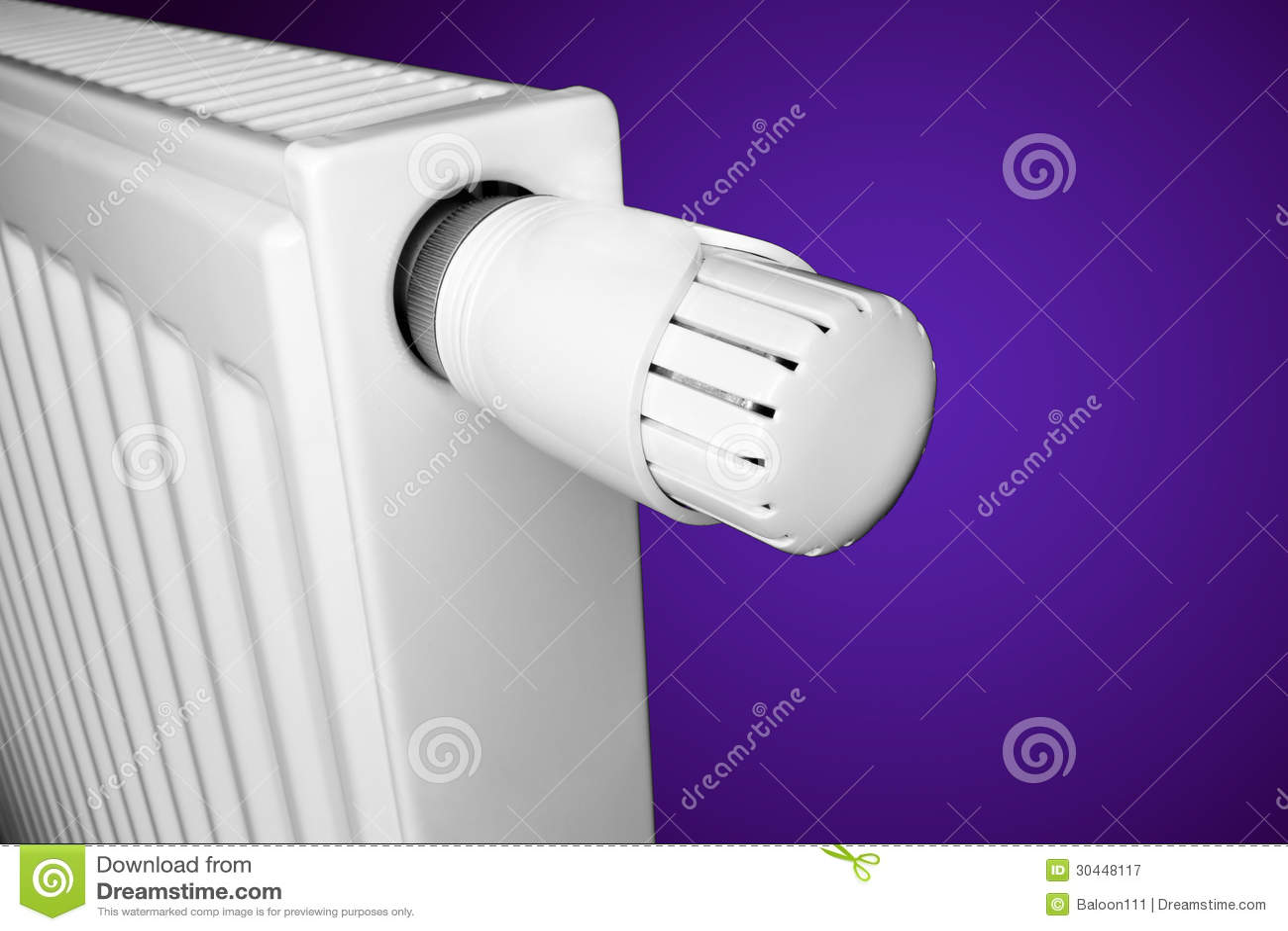 Element med termostaten