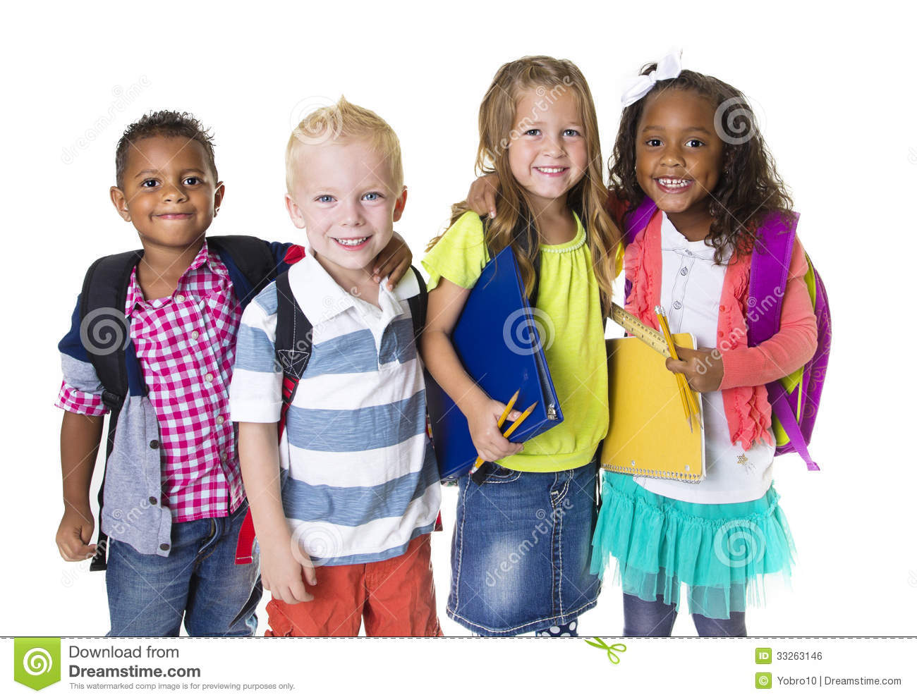elementary school kids group royalty free stock image - School Pictures For Kids