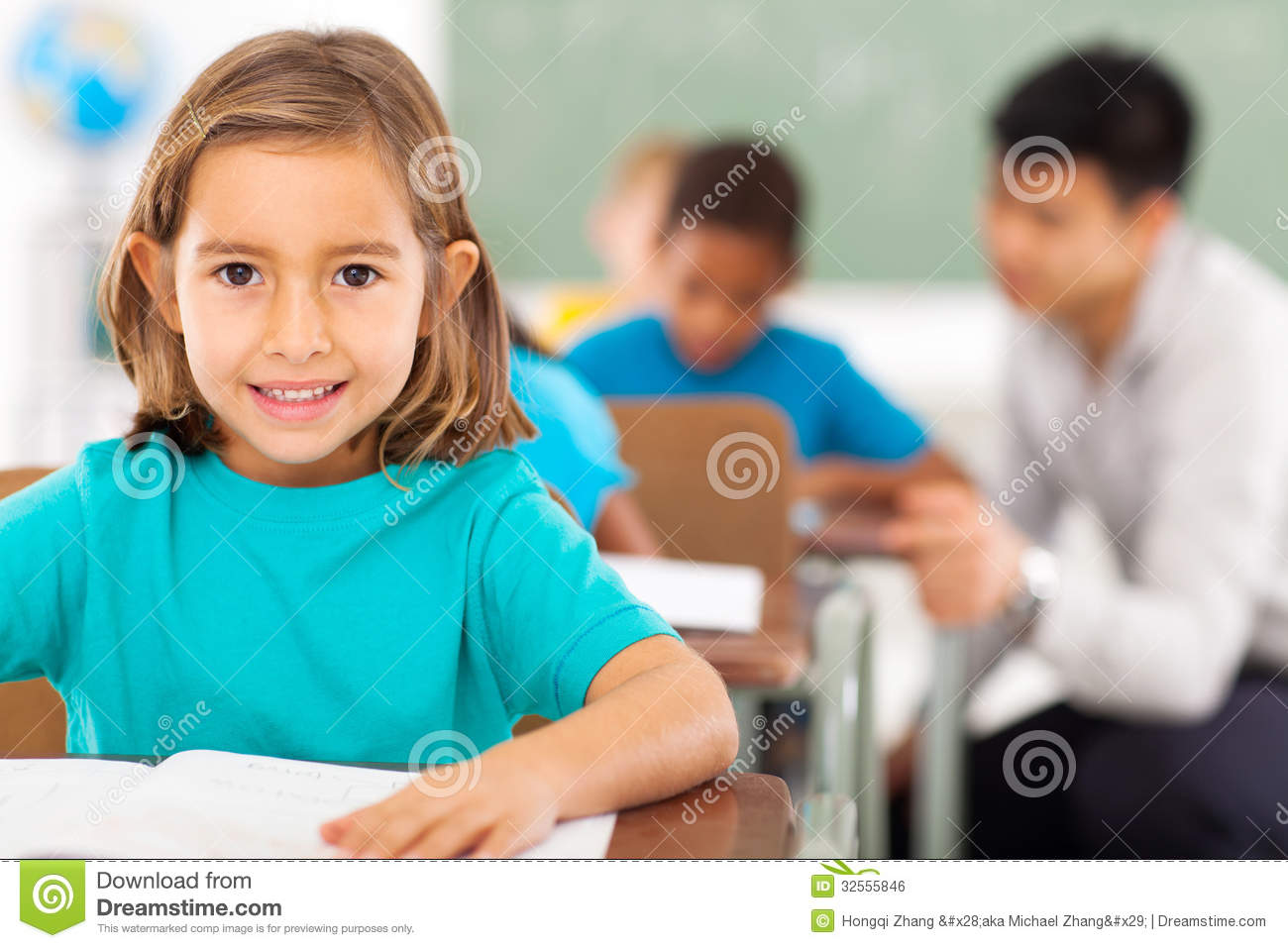 Elementary School Student Royalty Free Stock Image - Image: 32555846