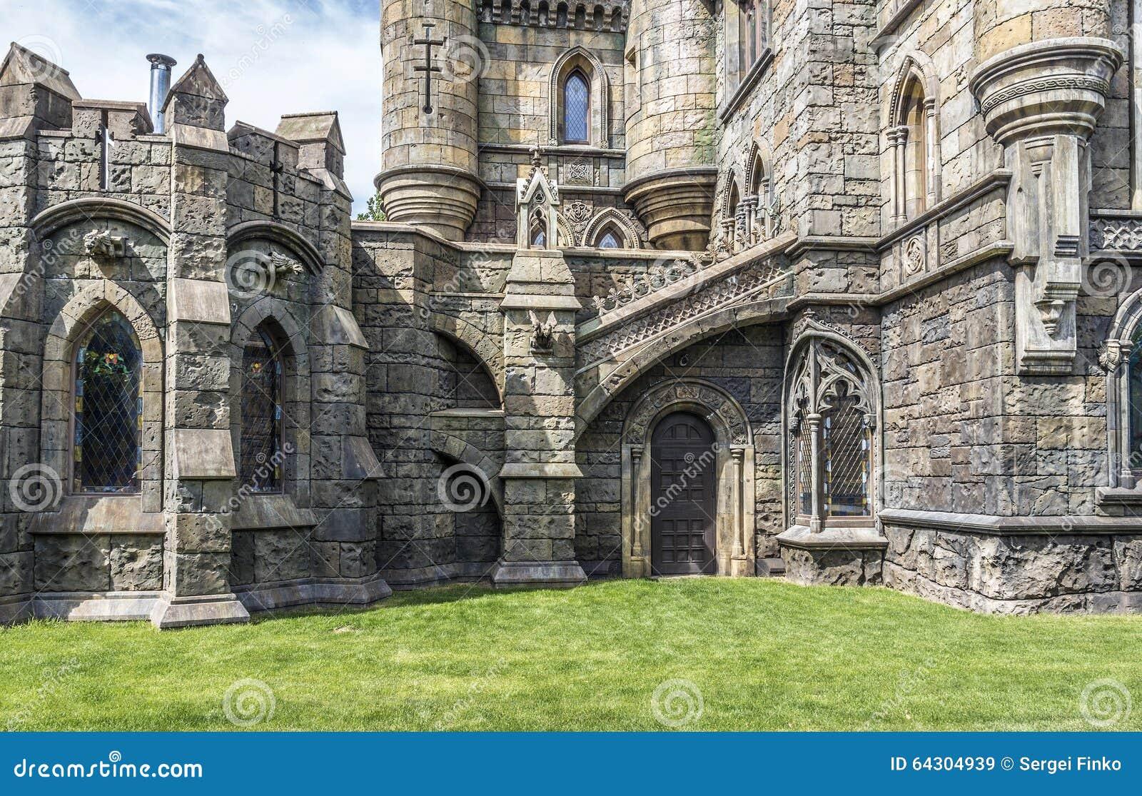 elementi di architettura nello stile gotico fotografia