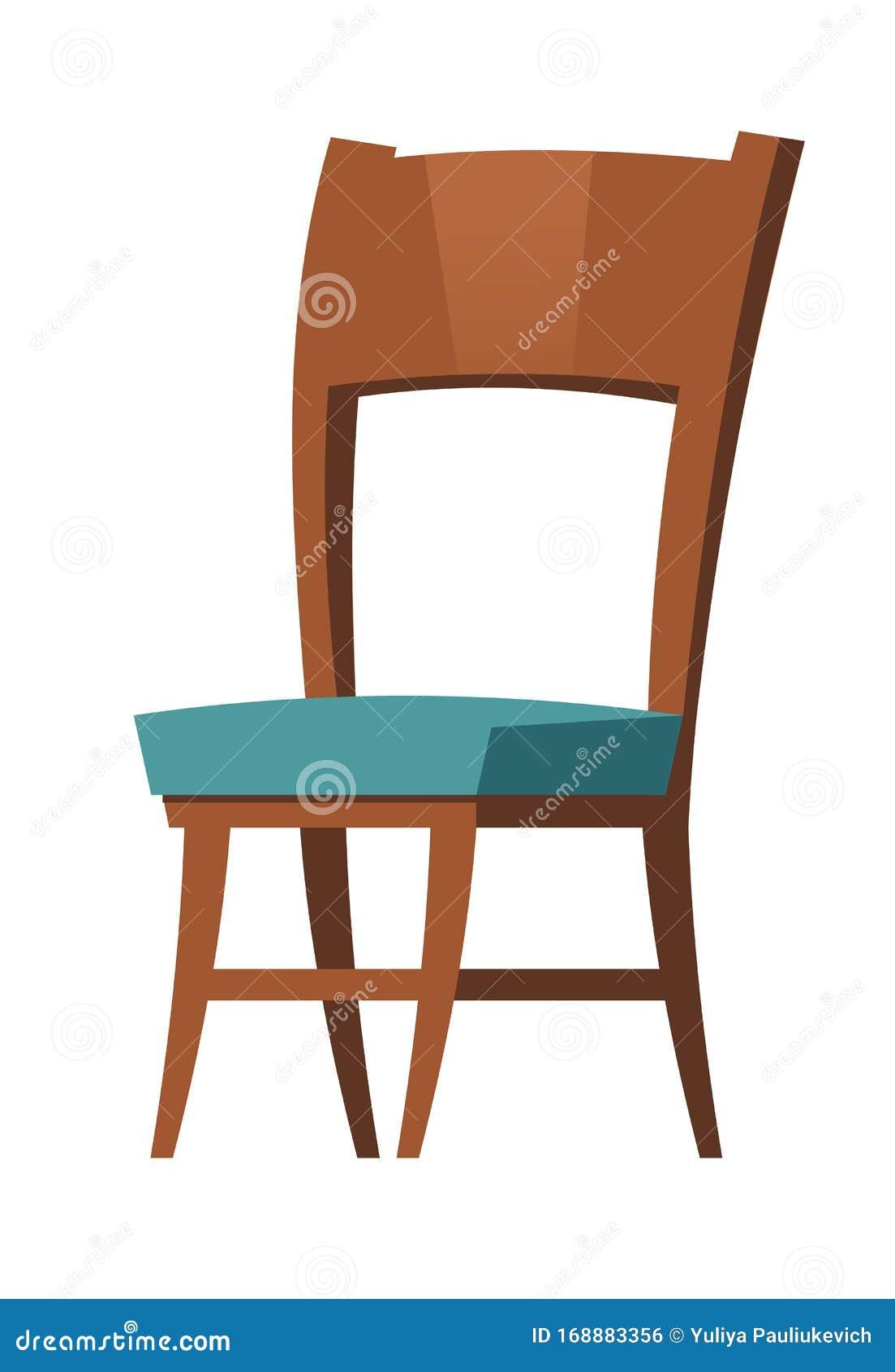 Elementi Di Cartone Per Mobili Per Sedie In Legno Per Interni Illustrazione Vettoriale Illustrazione Di Bianco Poltrona 168883356