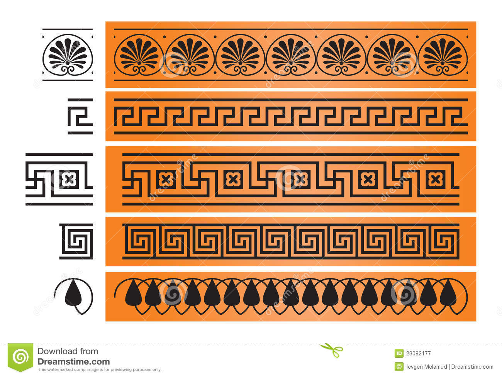 Decorazioni Greche Vasi