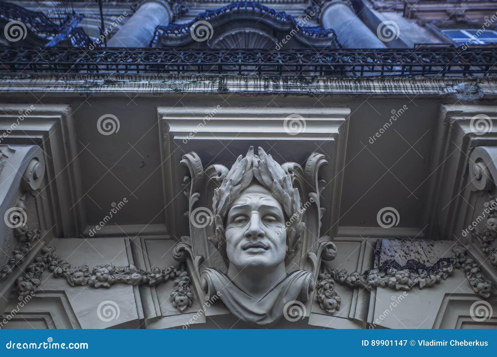 Elemento arquitetónico sob a forma de um volute Elementos arquitetónicos decorativos do detalhe