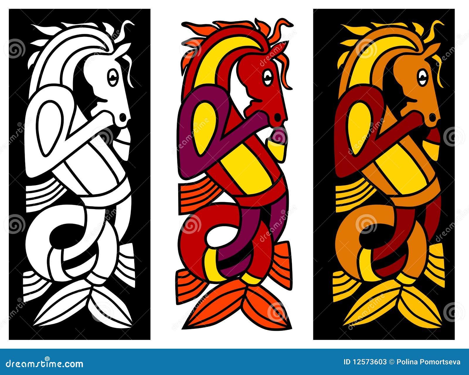 Elemento celta do ornamento