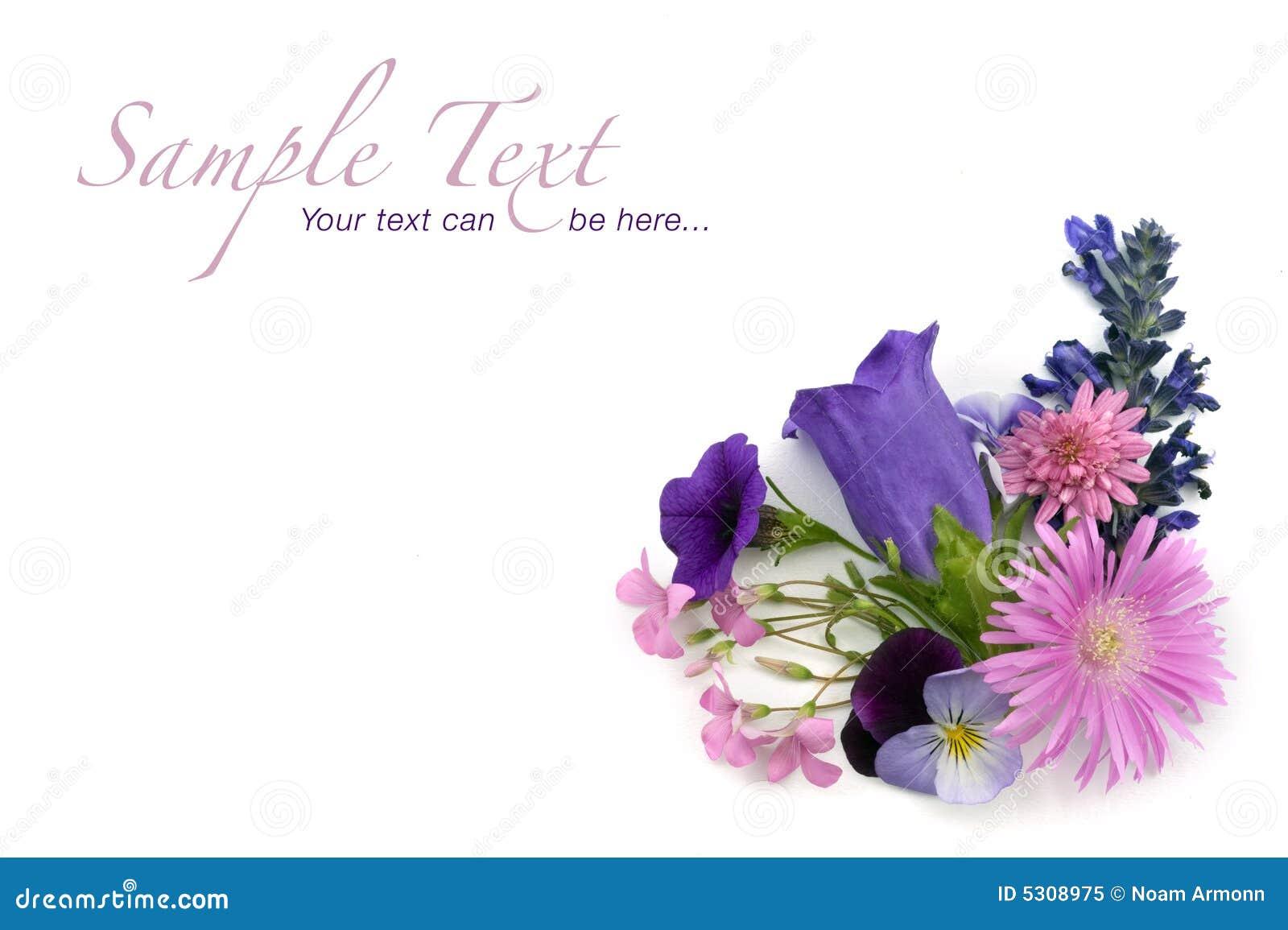 Download Elemento D'angolo Della Priorità Bassa Floreale Immagine Stock - Immagine di giardino, bello: 5308975
