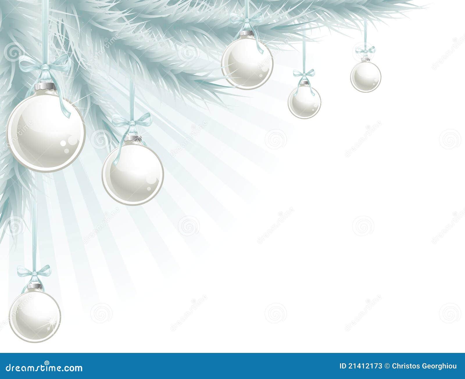 Elemento de la esquina del árbol de navidad