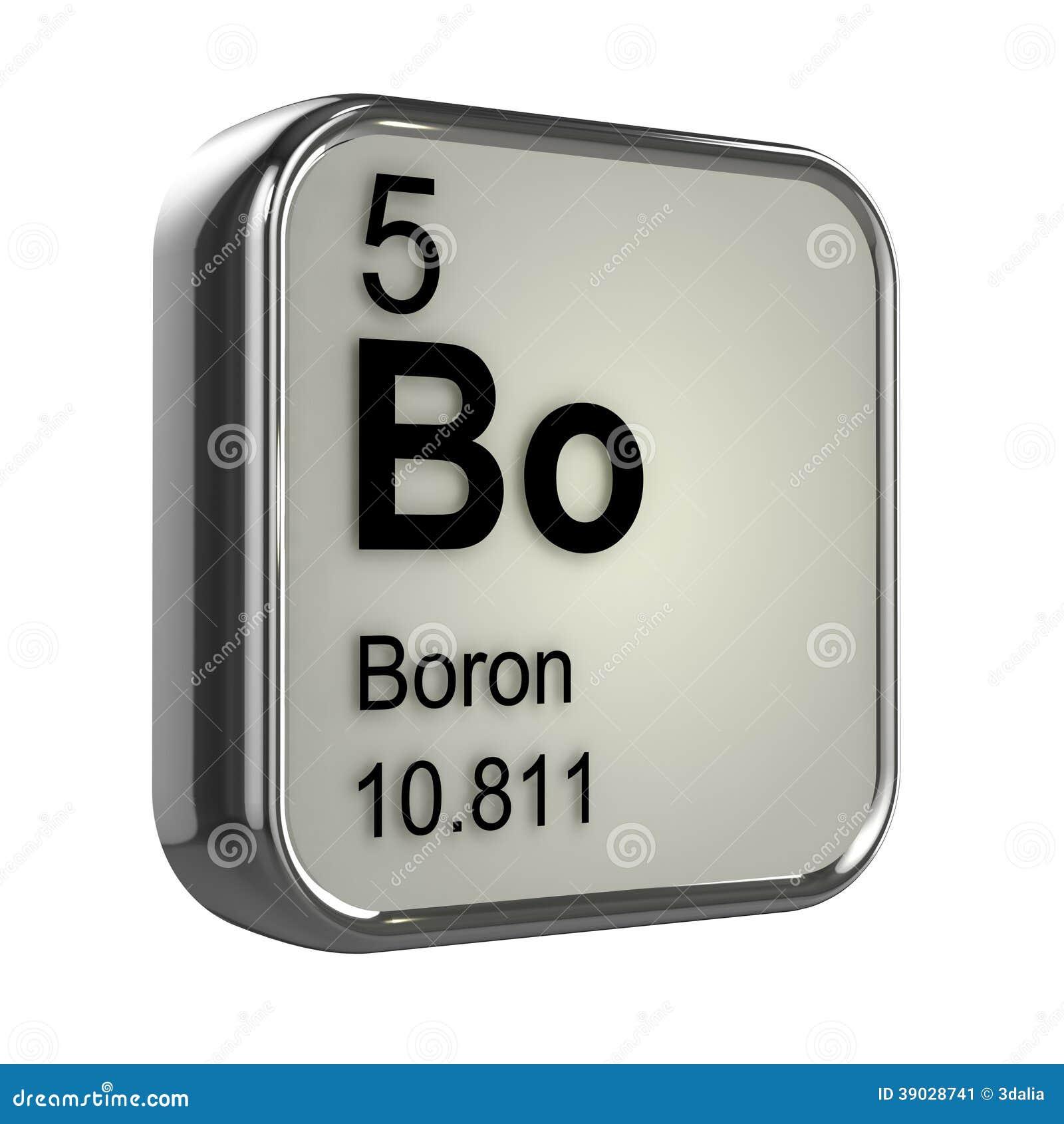 Elemento del boro 3d stock de ilustracin ilustracin de metales elemento del boro 3d urtaz Gallery