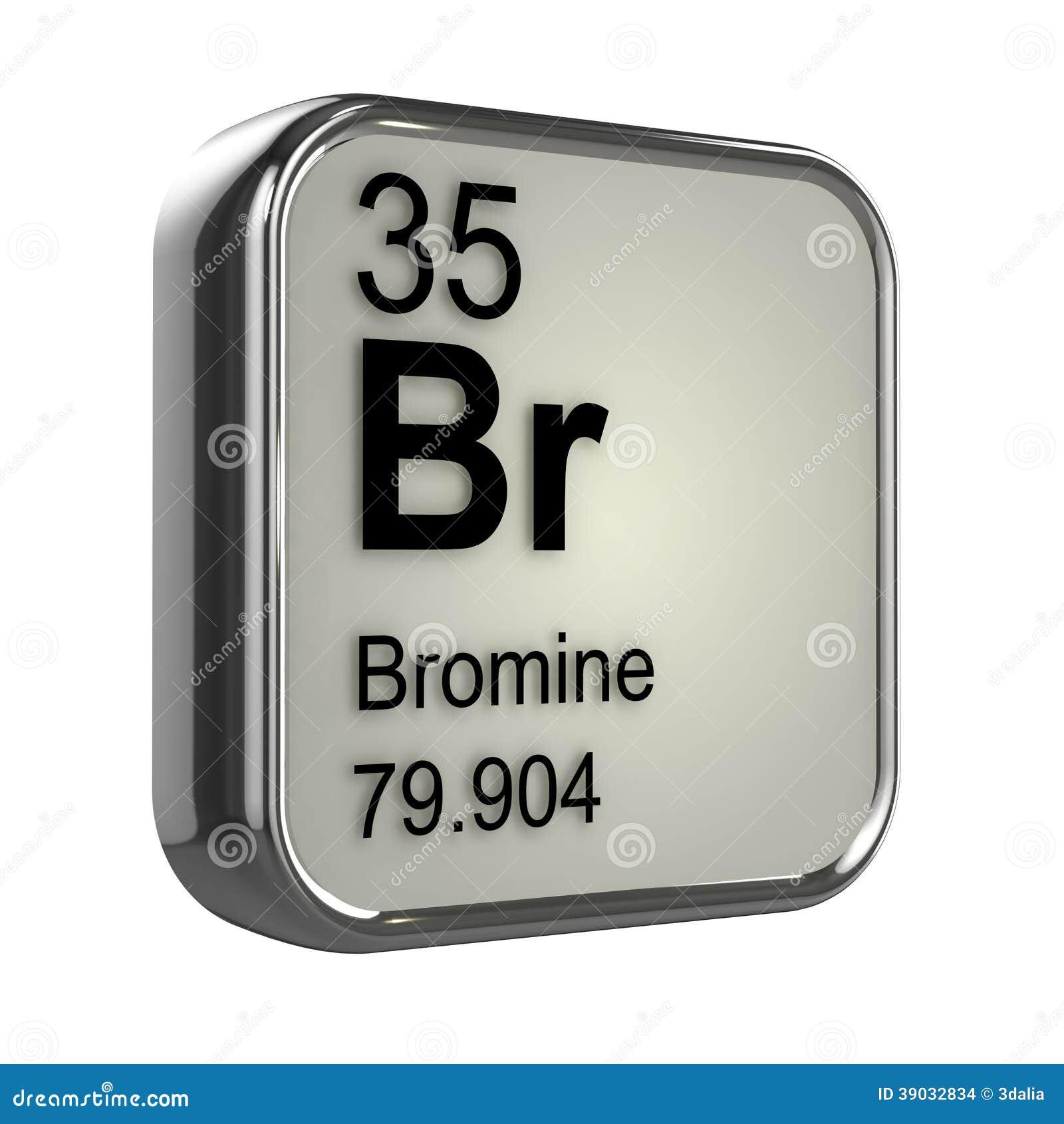 Bromo en la tabla peridica de los elementos imagen de archivo elemento del bromo 3d imagenes de archivo urtaz Choice Image