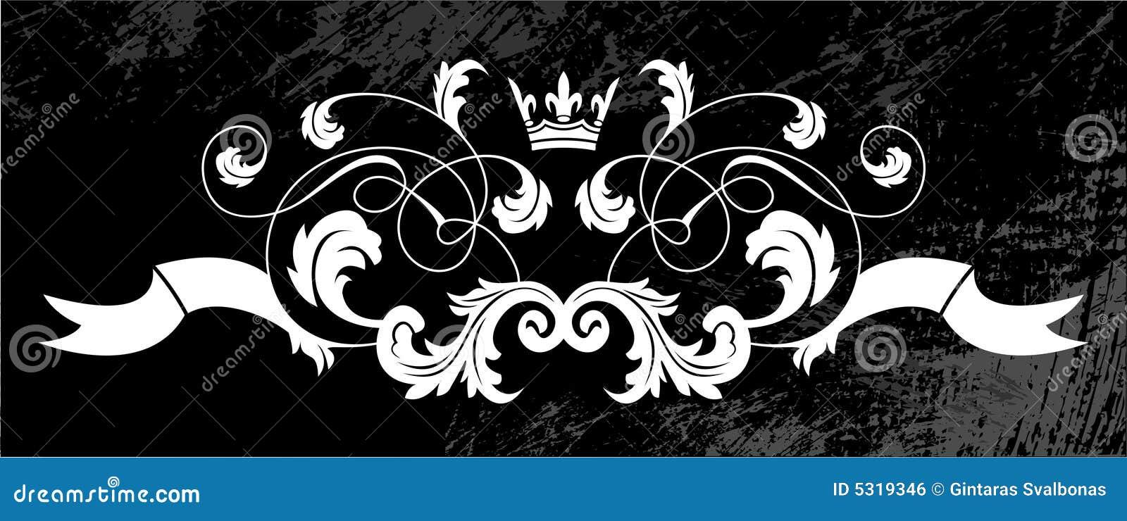 Download Elemento della pagina illustrazione vettoriale. Illustrazione di calligraphic - 5319346