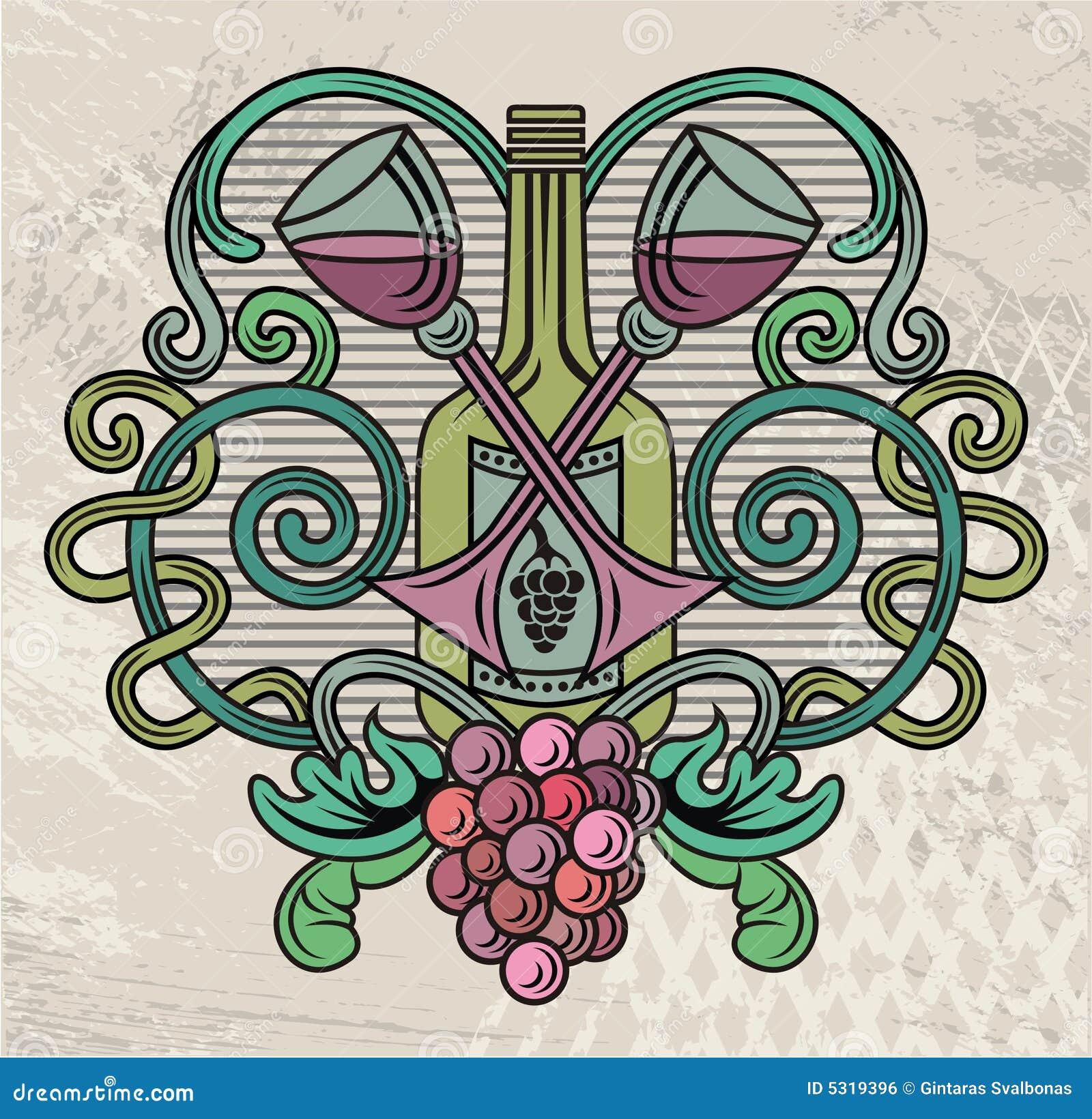 Download Elemento della pagina illustrazione vettoriale. Illustrazione di floreale - 5319396
