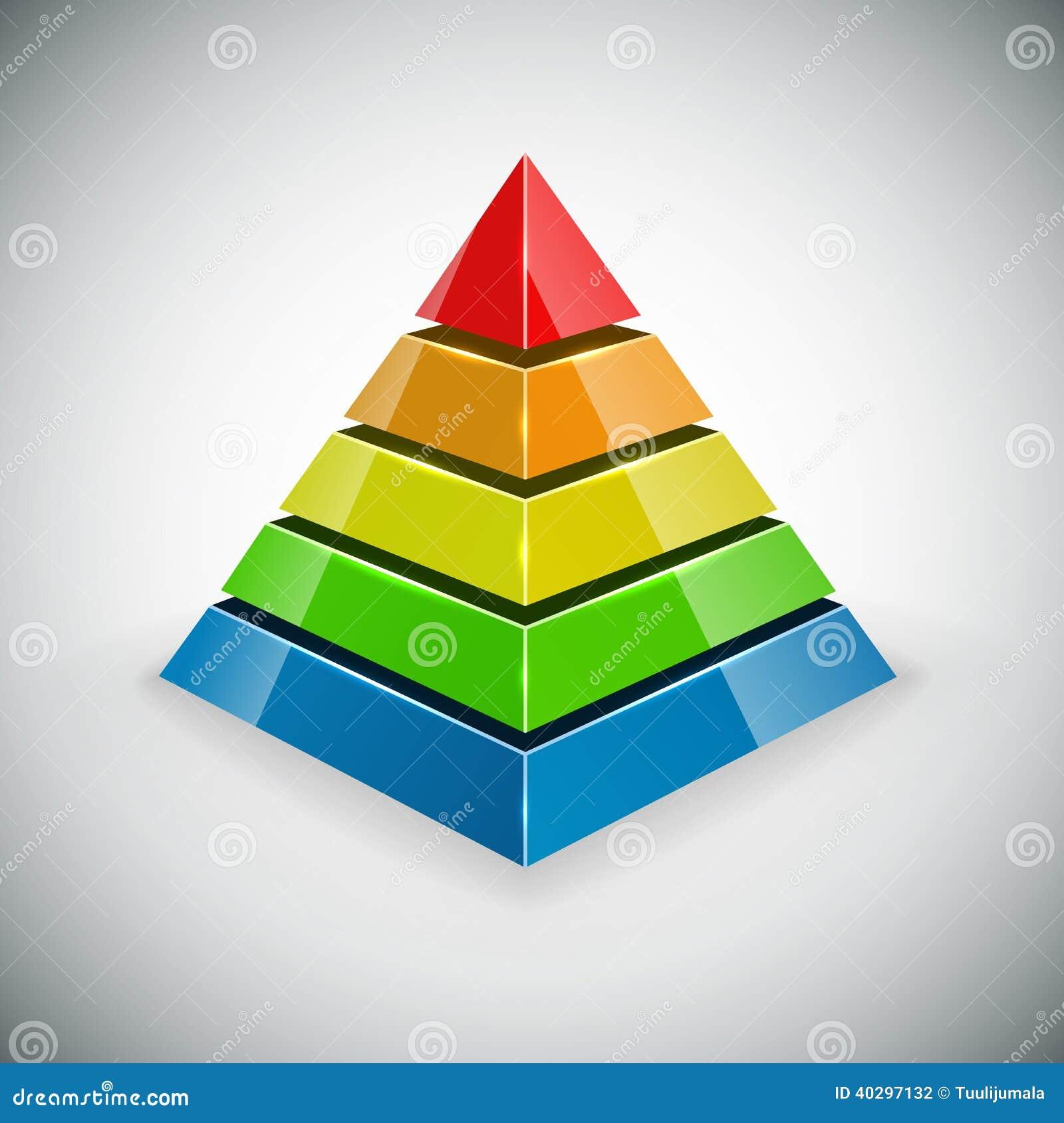 Elemento di progettazione della piramide illustrazione for Programmi progettazione 3d