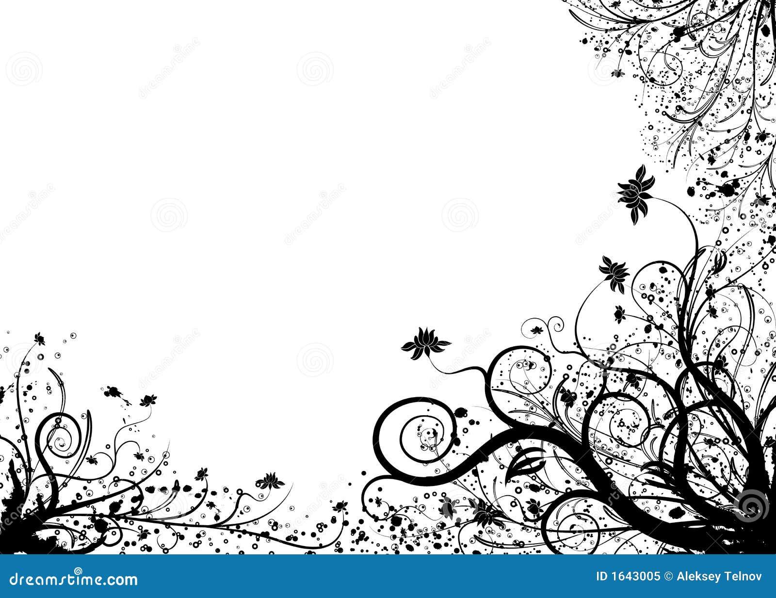 Elemento floral para el dise o vector foto de archivo - Fotos decorativas ...