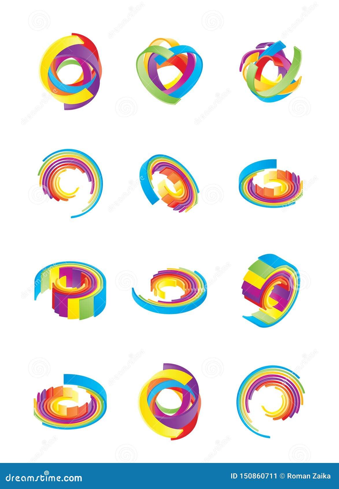 Elemento gráfico o imágenes de fondo abstractas