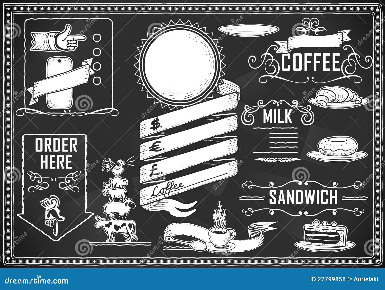 Elemento grafico dell annata per il menu della barra