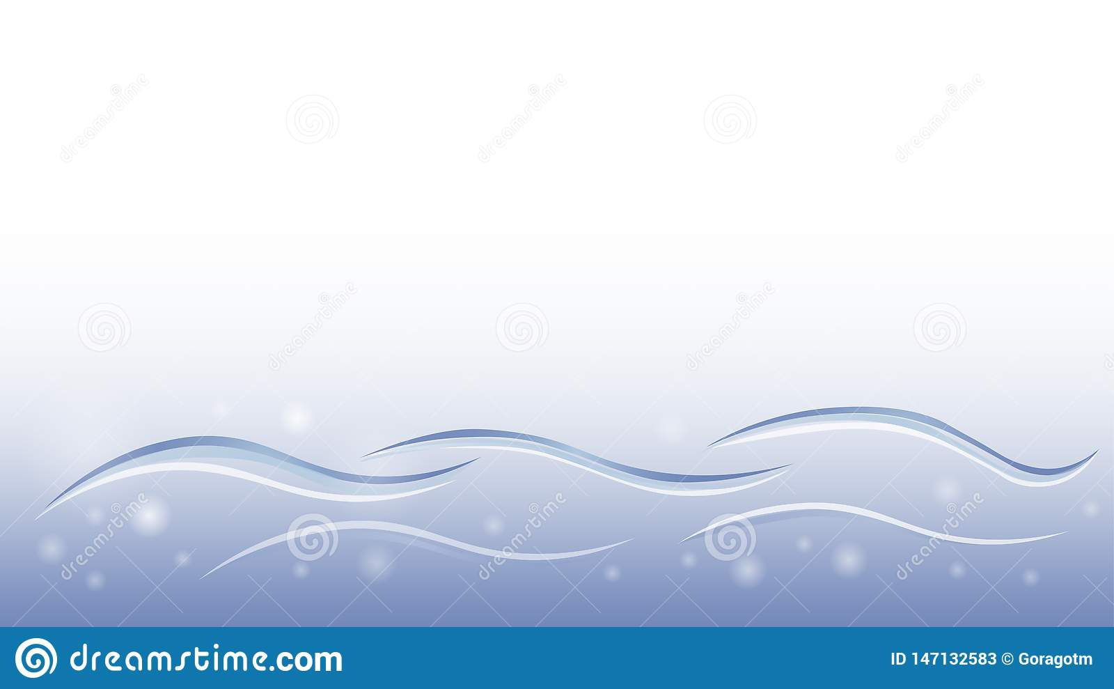 Elemento suave líquido del vector del extracto del diseño del papel pintado del movimiento azul del agua