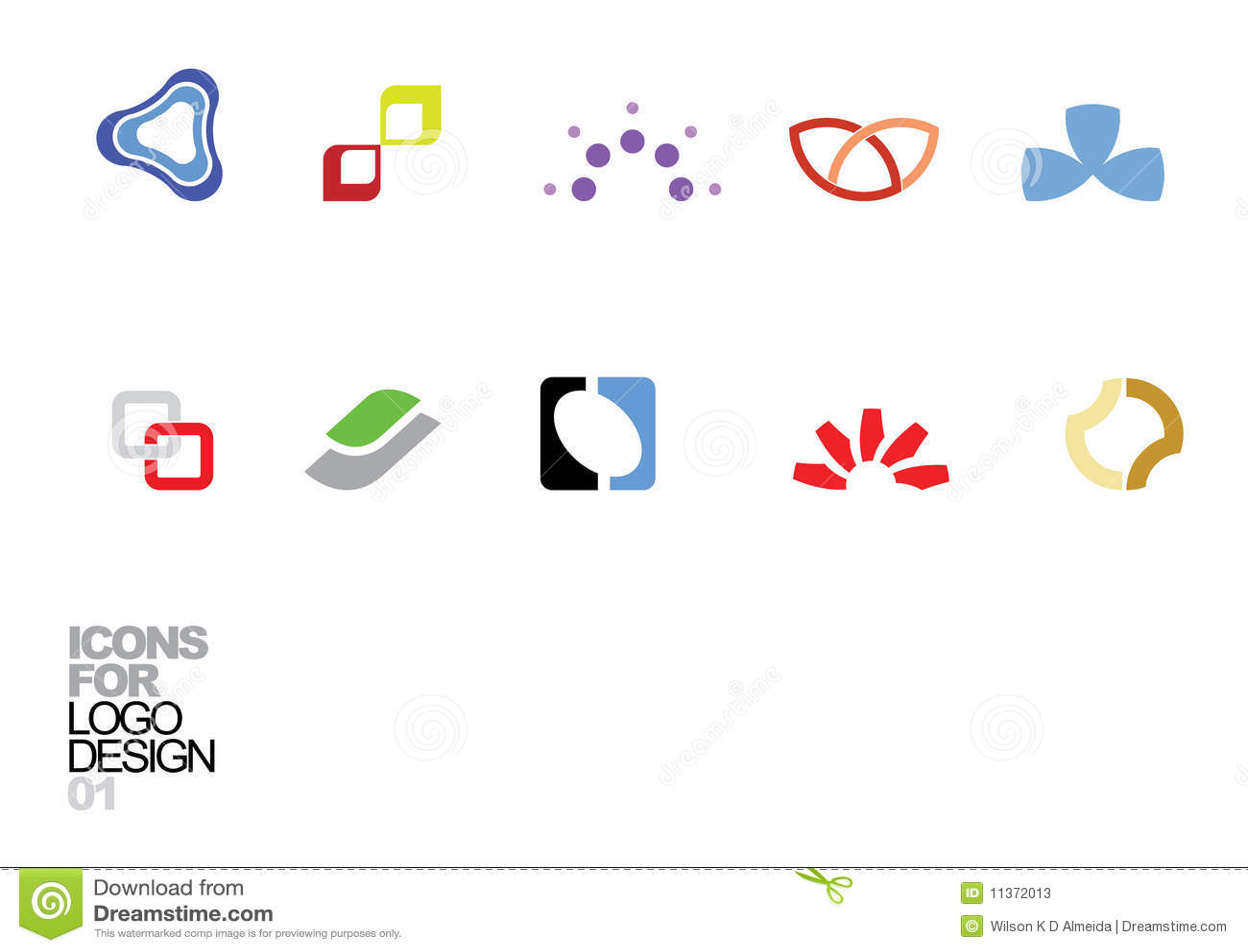 Elementos 01 del vector del diseño de la insignia