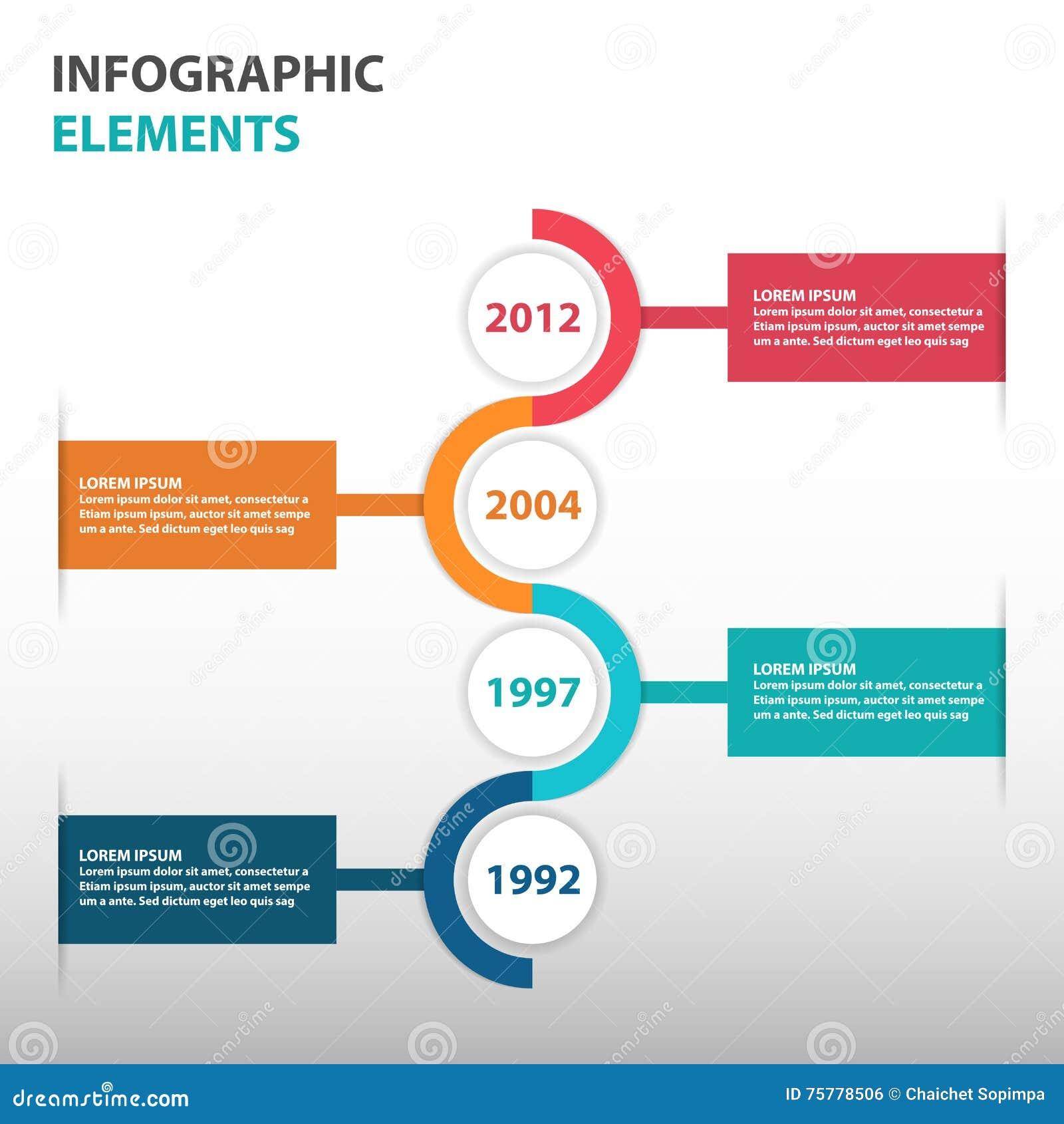Elementos Abstractos De Infographics Del Mapa Itinerario