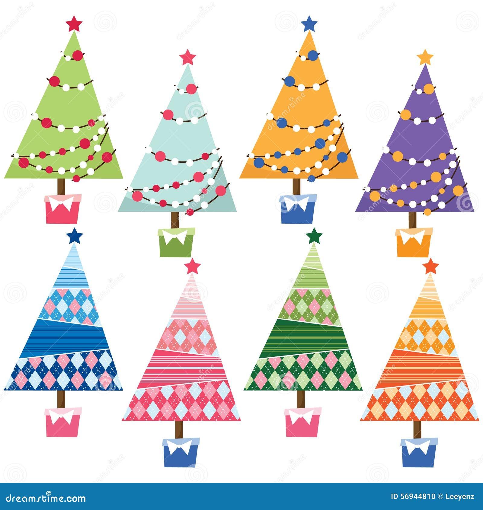 Elementos da árvore de Natal