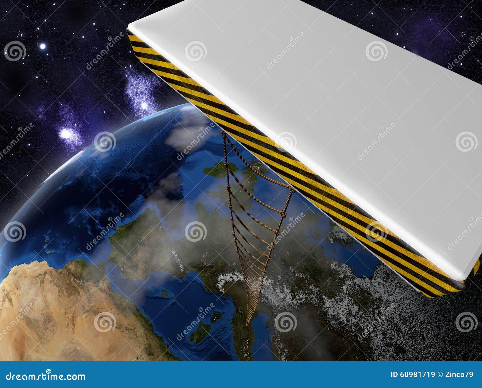 Elementos de esta imagen equipados por la NASA