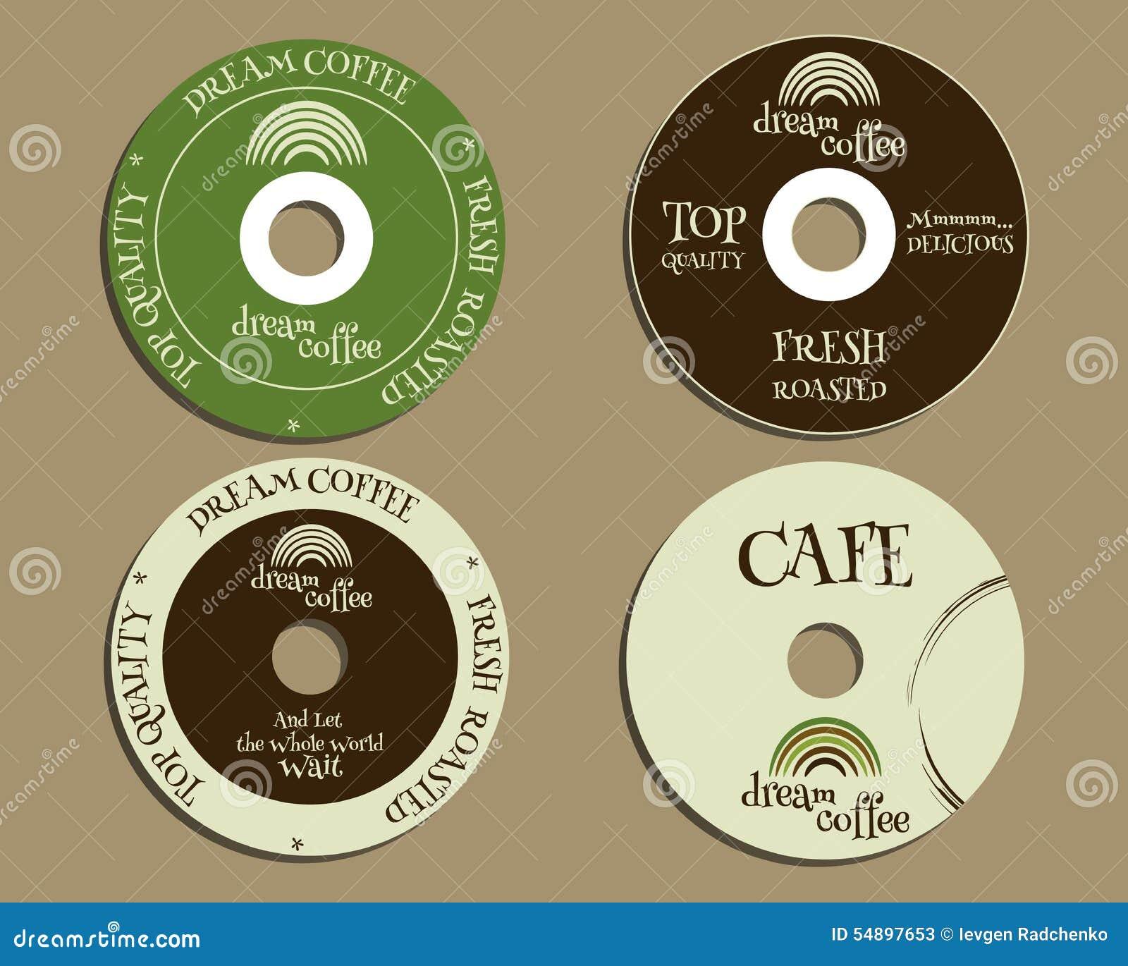Elementos De Identidad De Marca - CD, Plantillas Del DVD Muestra ...