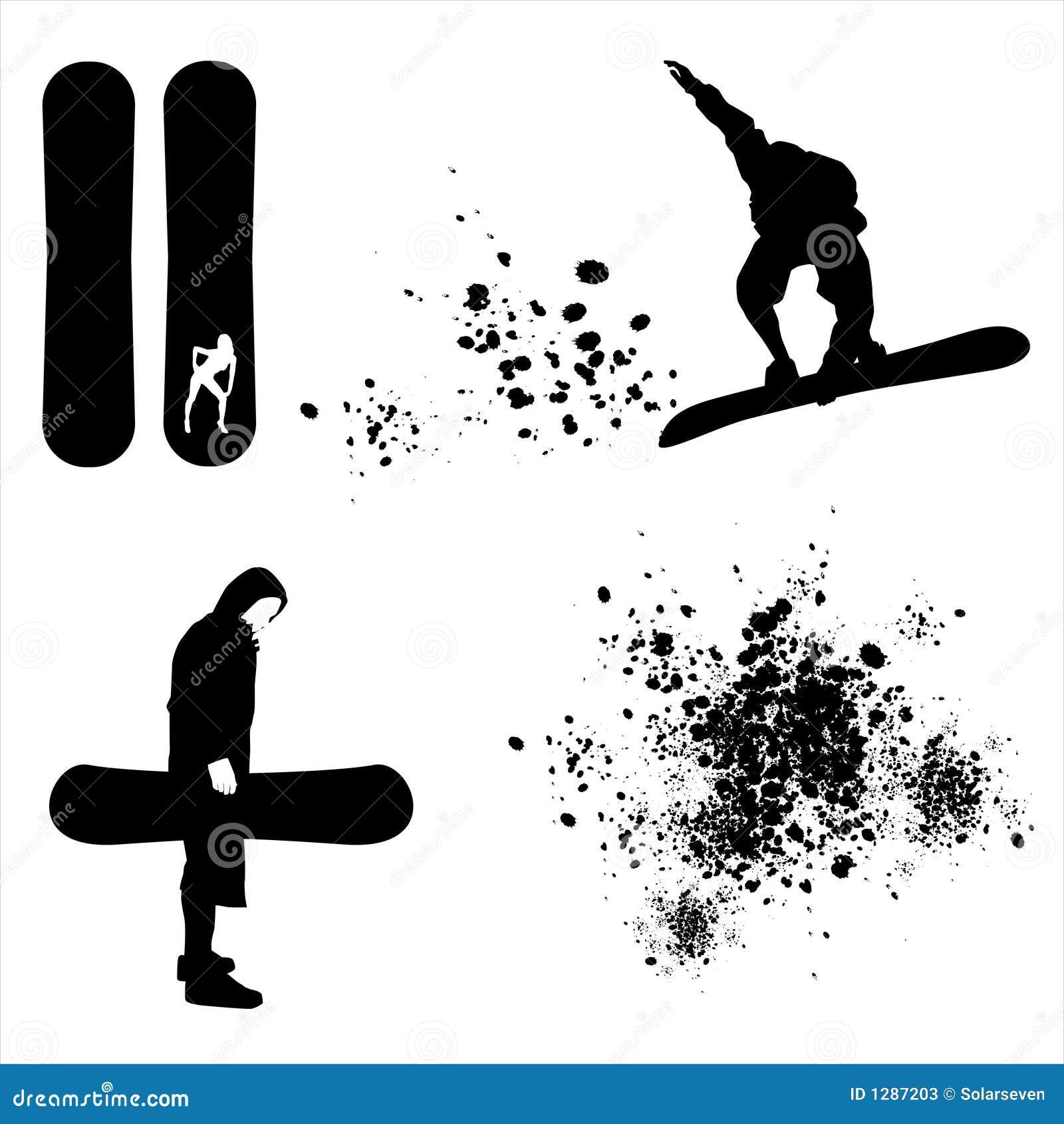 Elementos de la snowboard