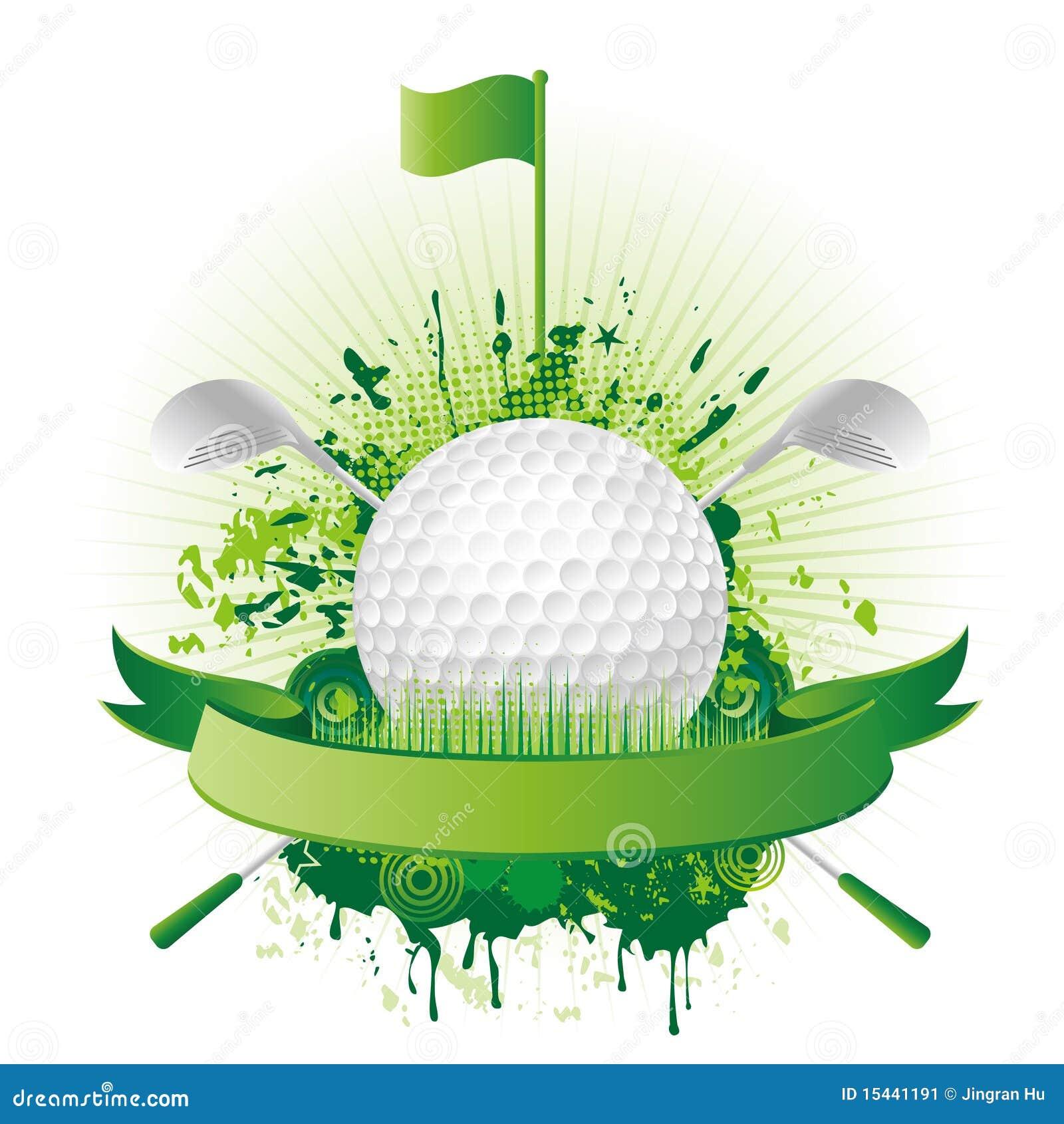 Elementos del diseño del golf