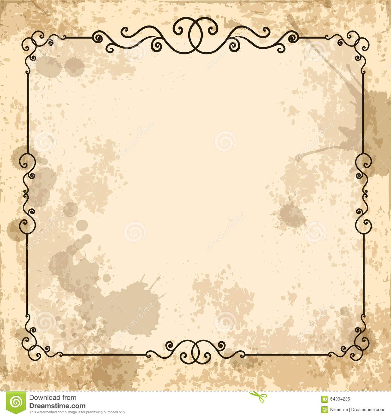 Old Fashioned Letter Template Word