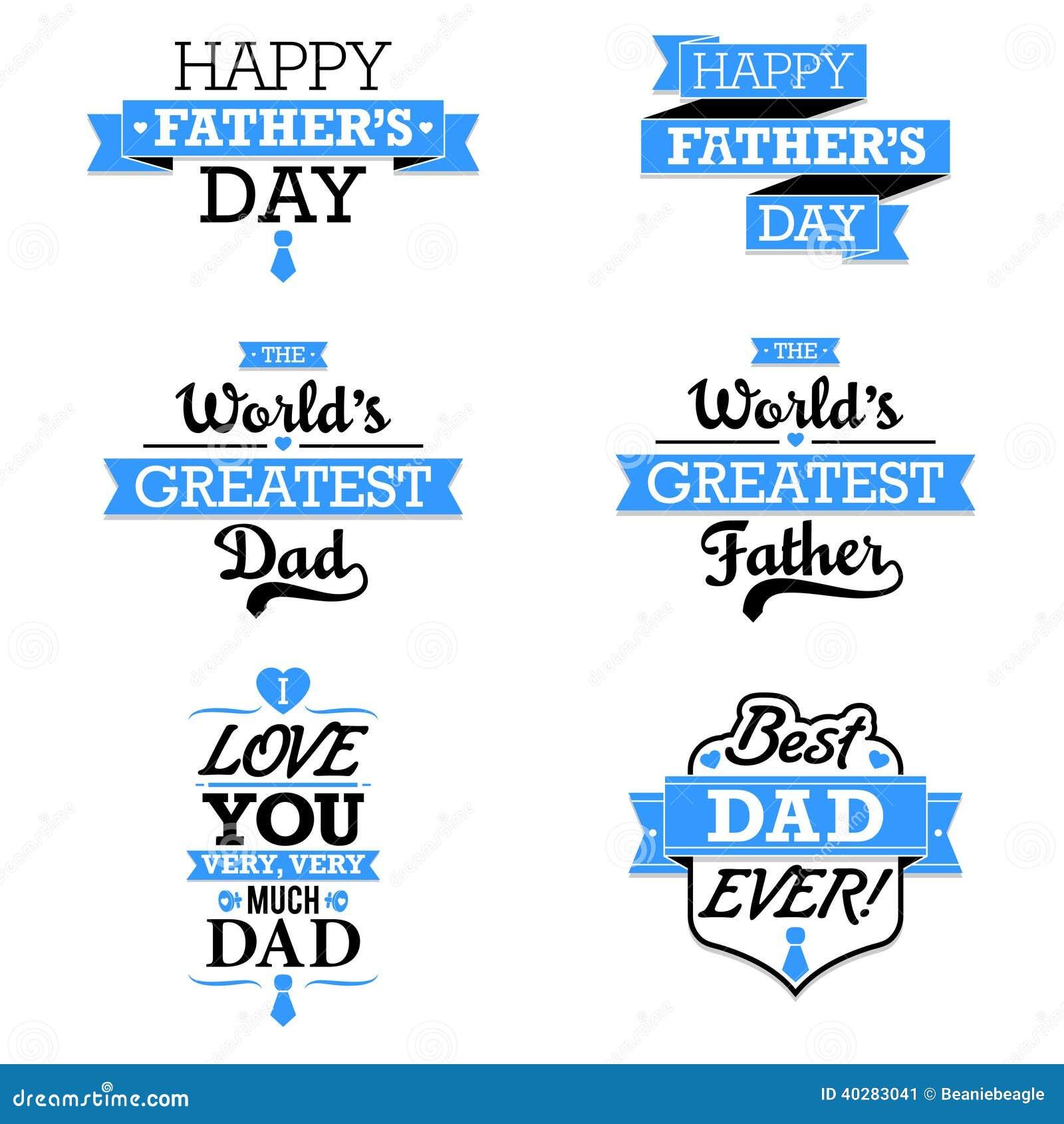 Elementos del texto del día de padre