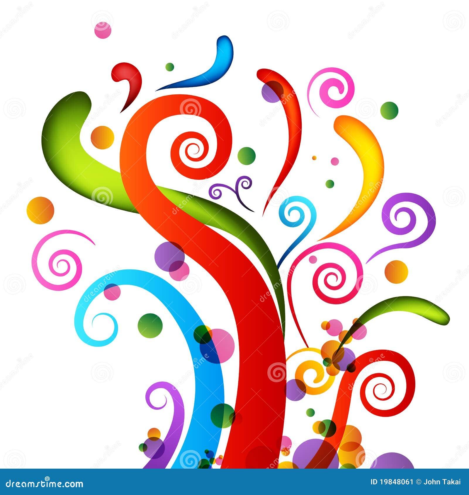 Elementos do Confetti da celebração