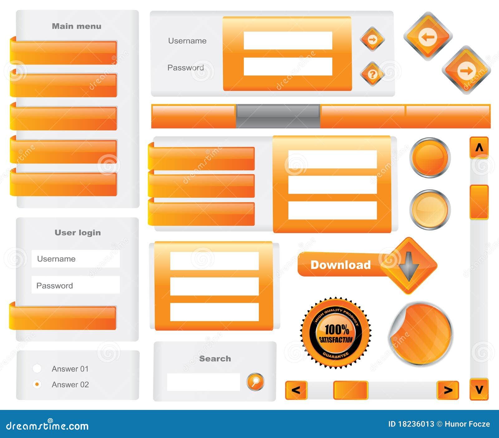 Elementos Editable do Web site