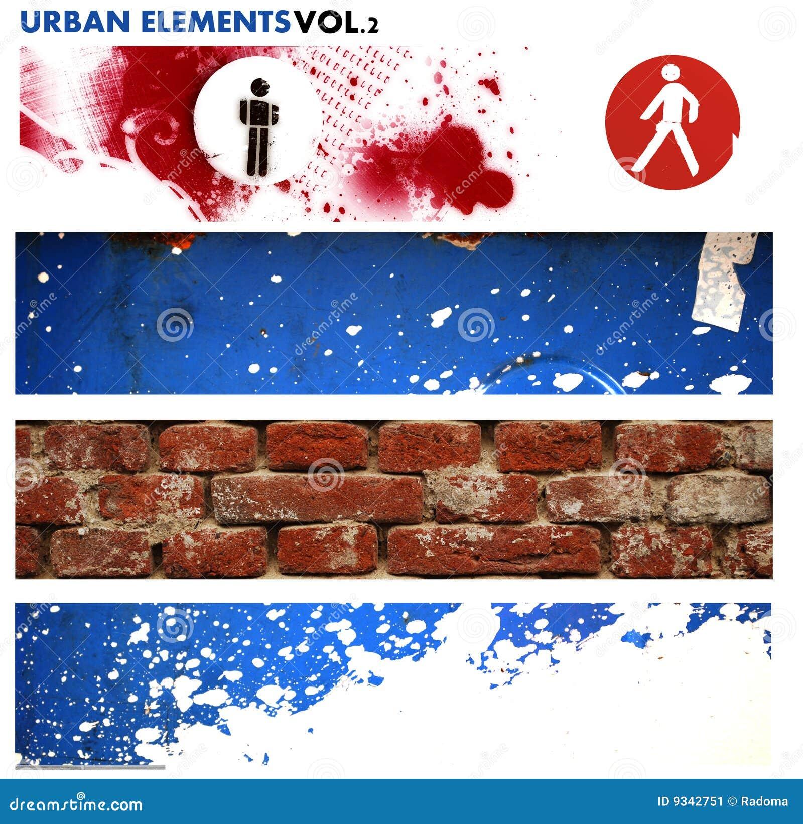 Elementos gráficos urbanos 2