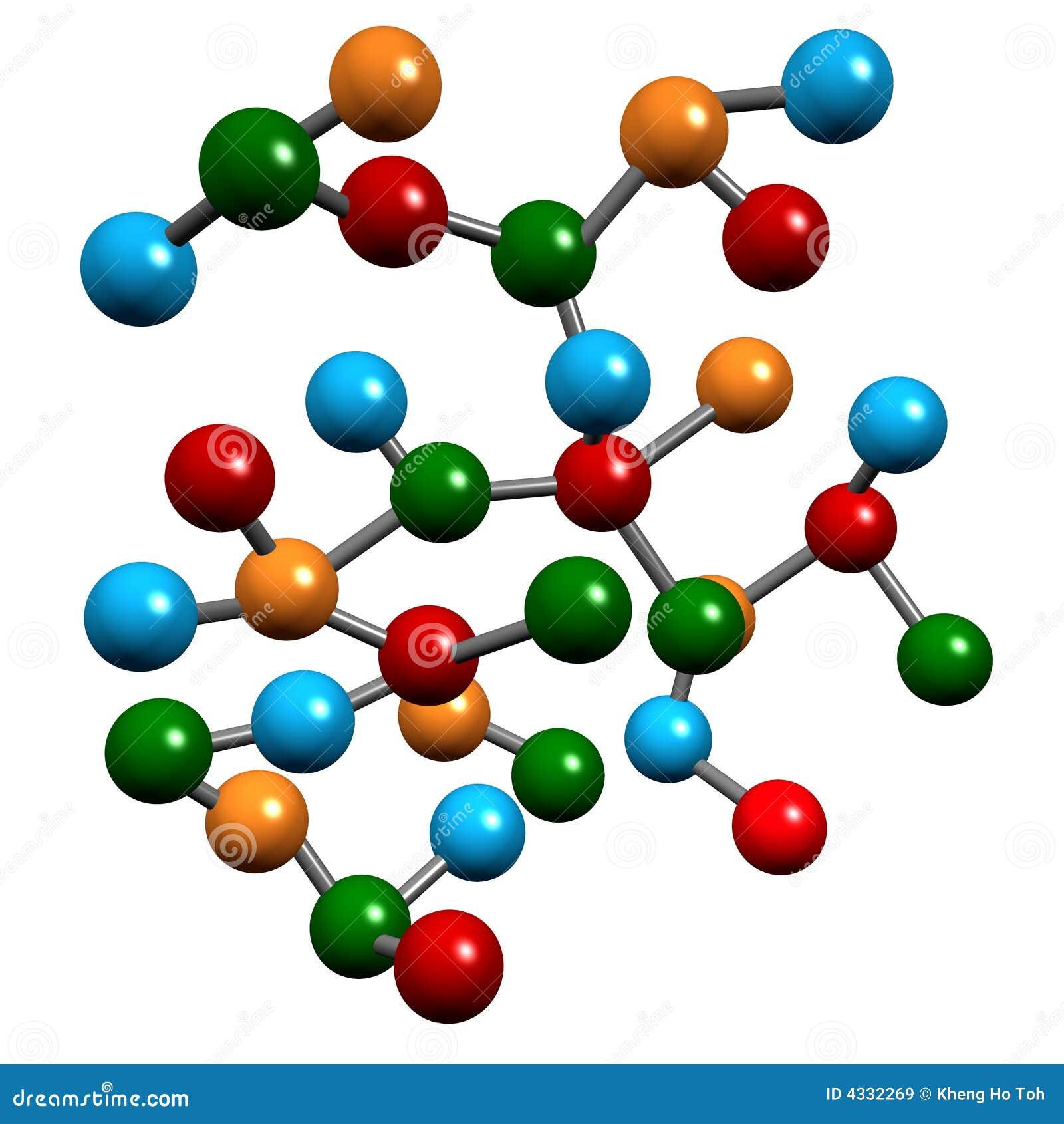 elementos moleculares de la qu mica stock de ilustraci n