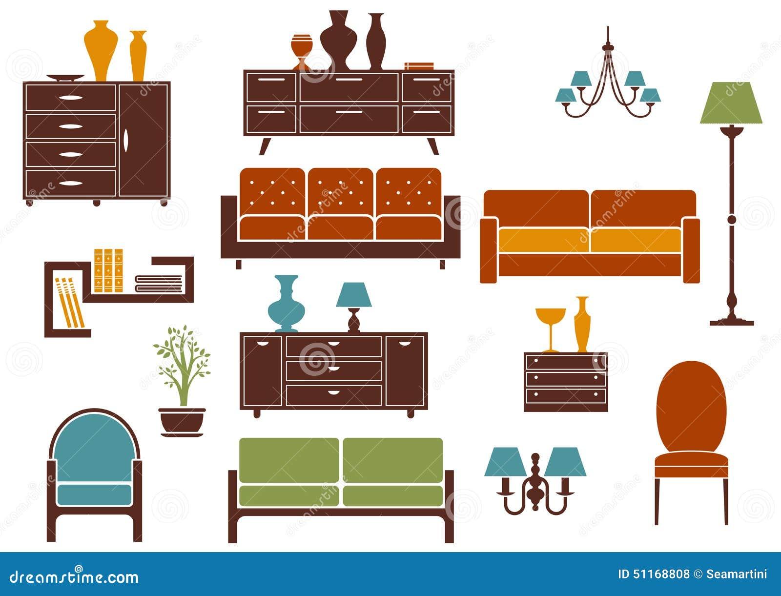 Elementos planos interiores del dise o de los muebles y for Planos y diseno de muebles
