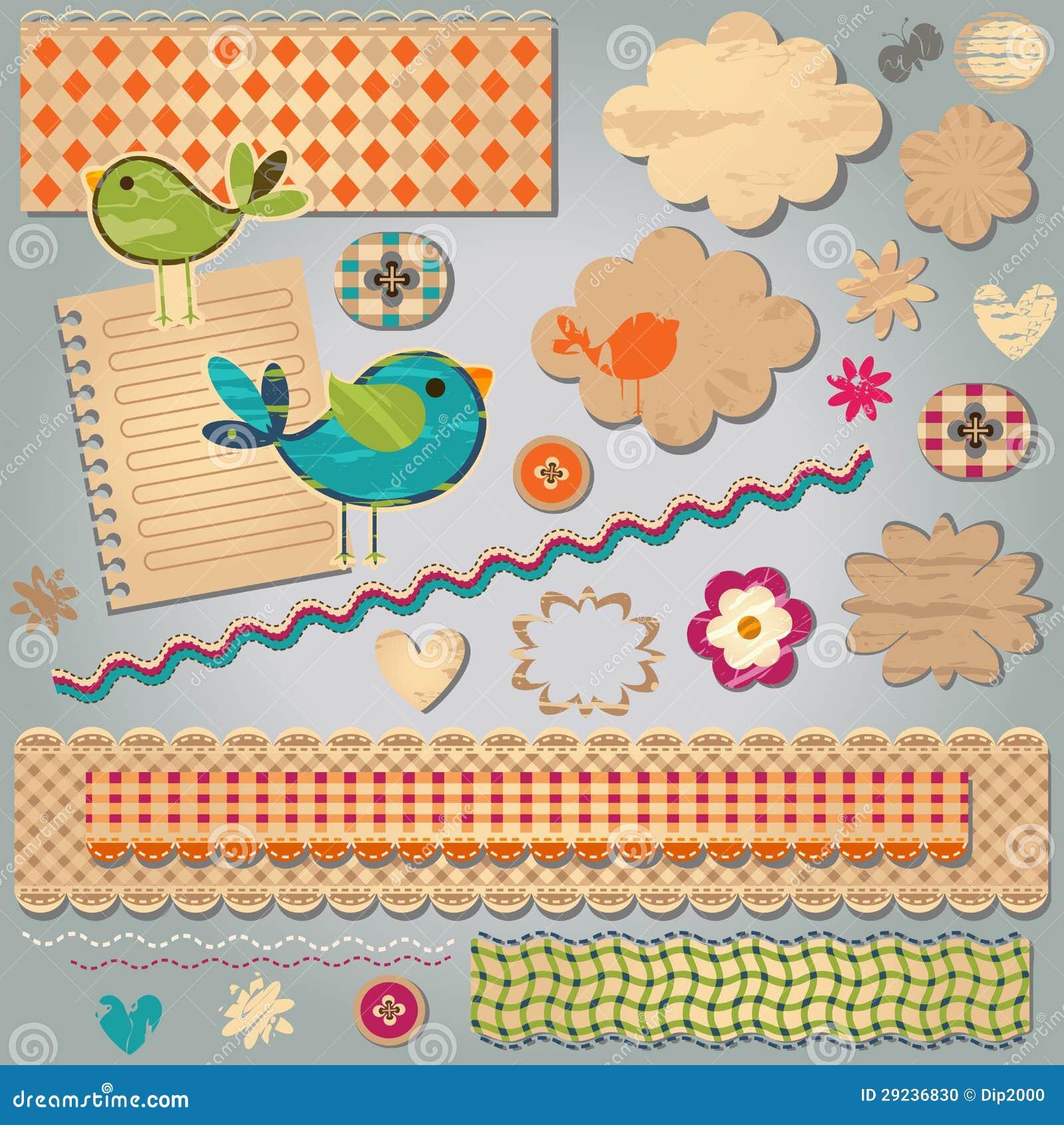 Download Elementos Textured Do Projeto Ilustração do Vetor - Ilustração de funky, vetor: 29236830