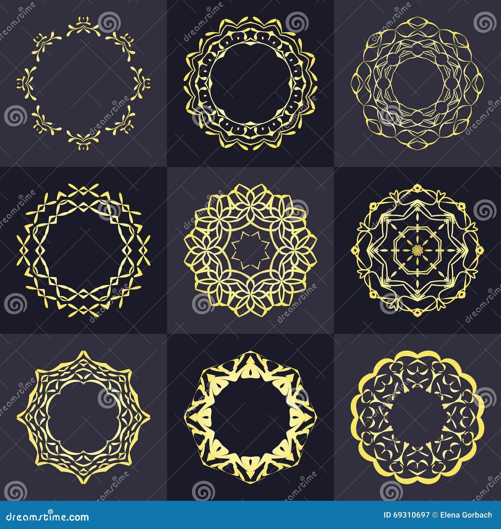 Elementos vazios do projeto do monograma, molde gracioso Linha elegante projeto do logotipo da arte emblema Insígnias retros do v