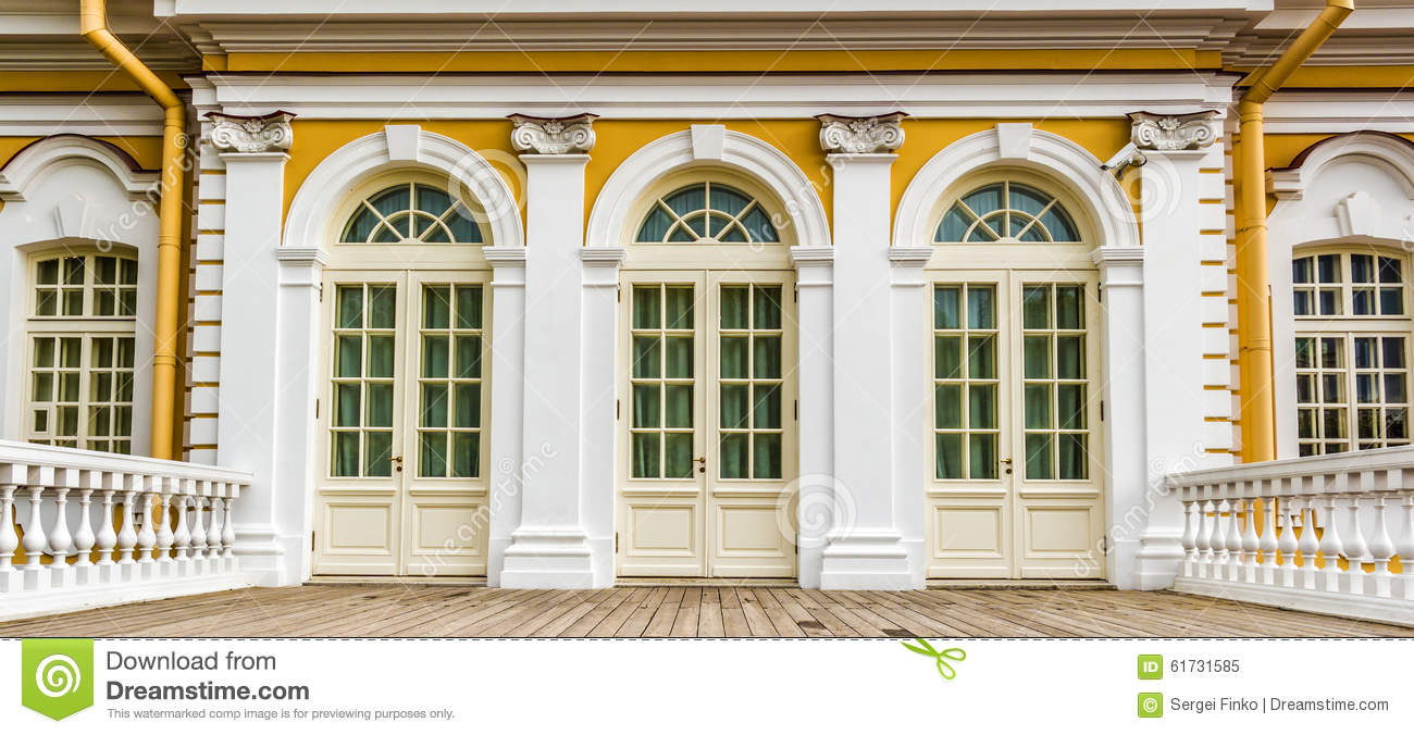Elements of baroque architecture stock photo image 61731585 for Baroque architecture elements