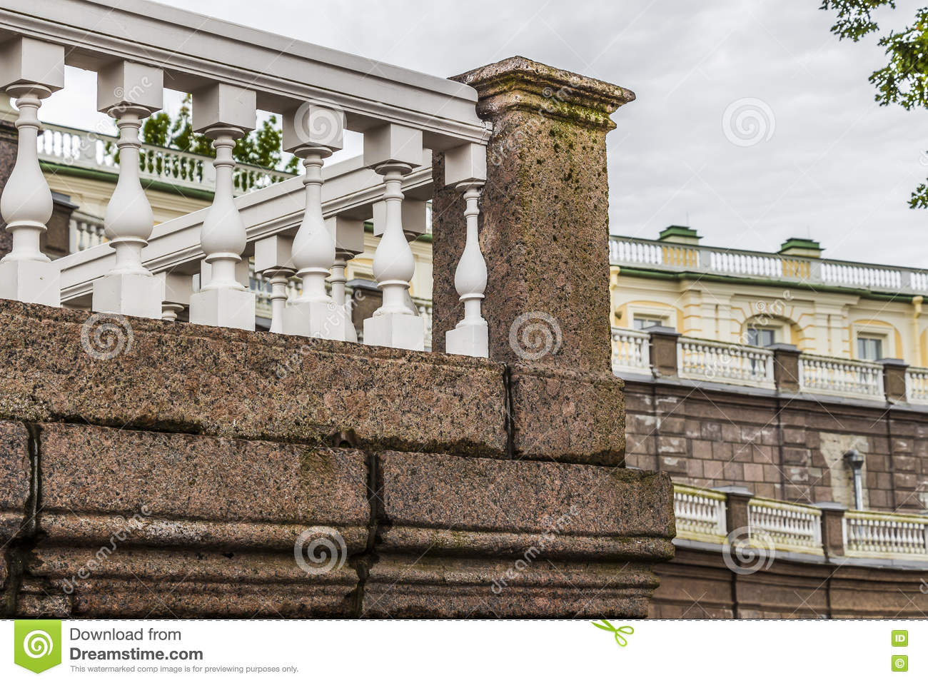 The elements of baroque architecture stock photo image for Baroque architecture elements