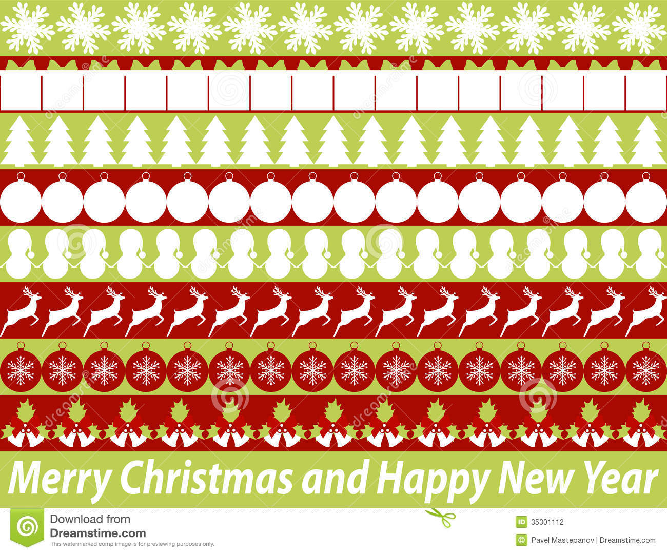 elements for christmas design stock photography - image: 35301112