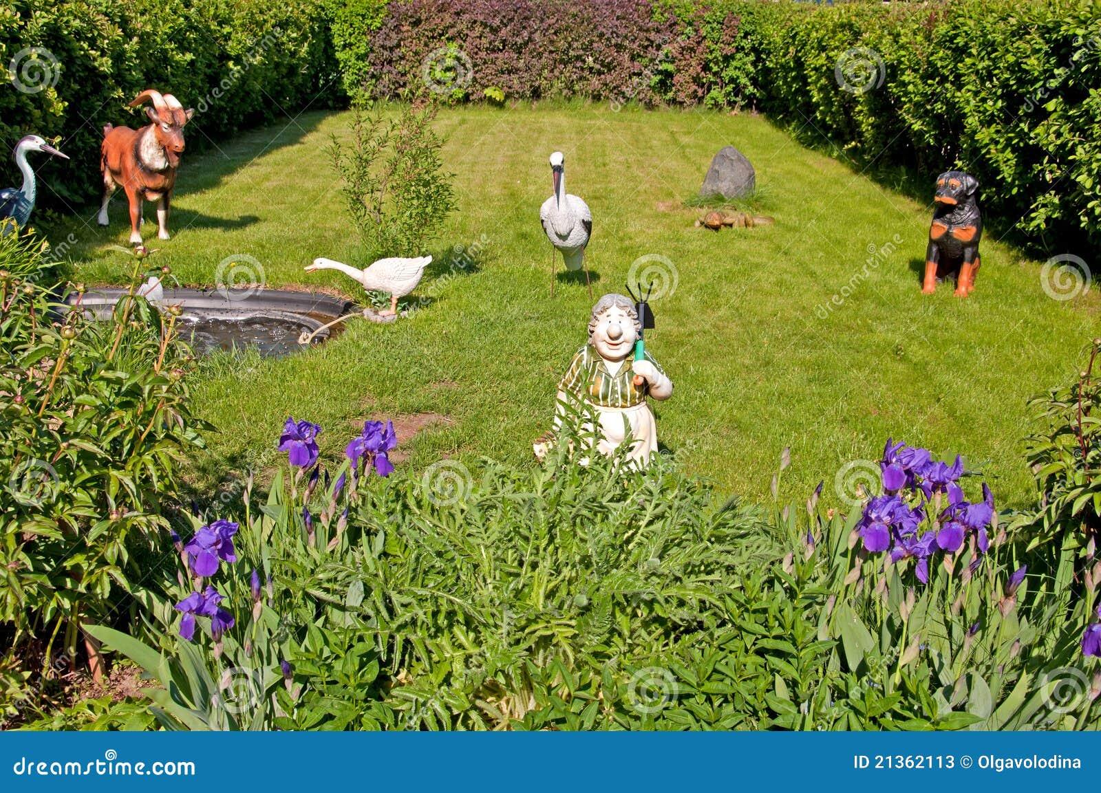 Elements of a garden landscape design stock photos image for Garden design elements