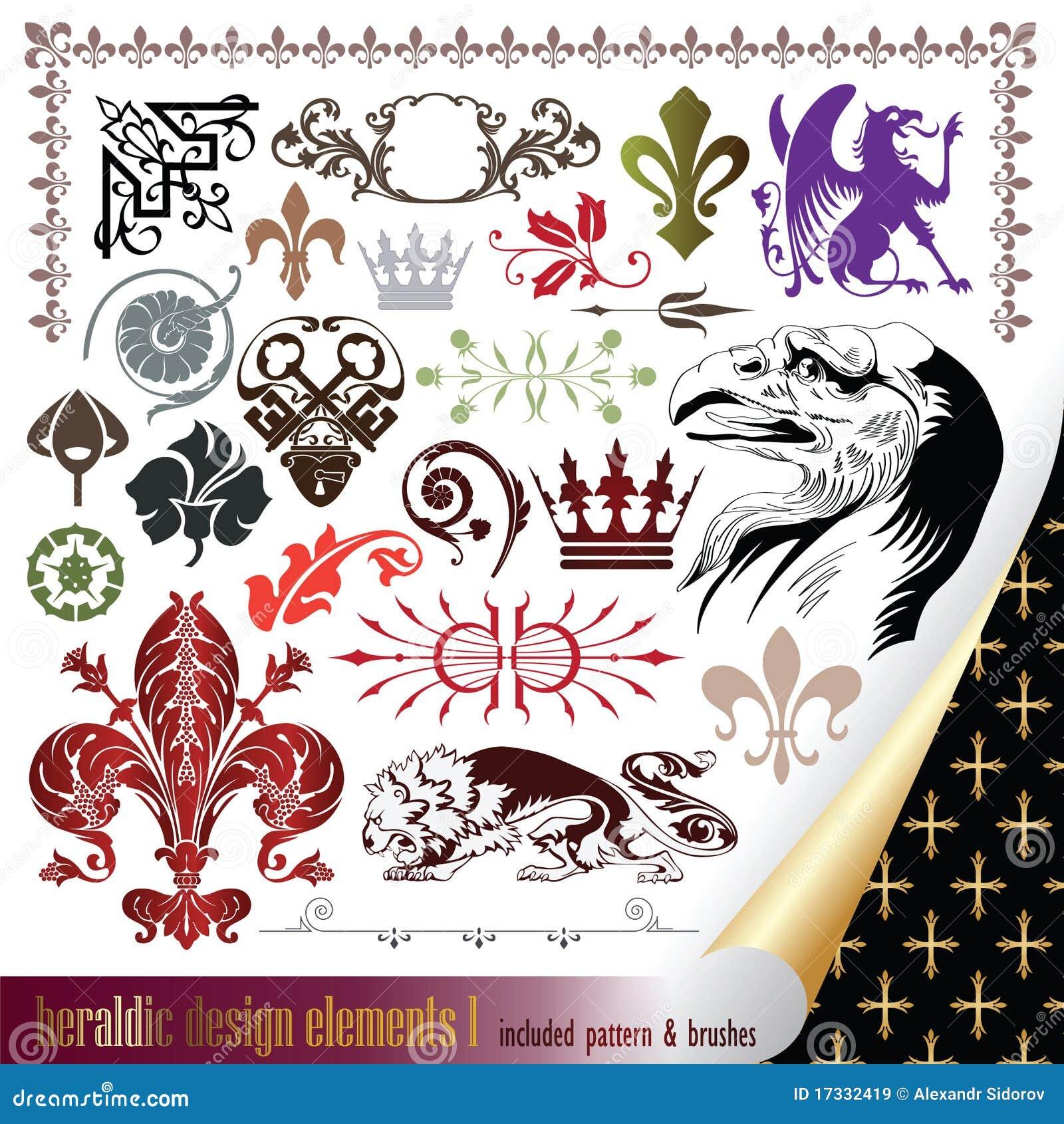 Elements for your heraldic design