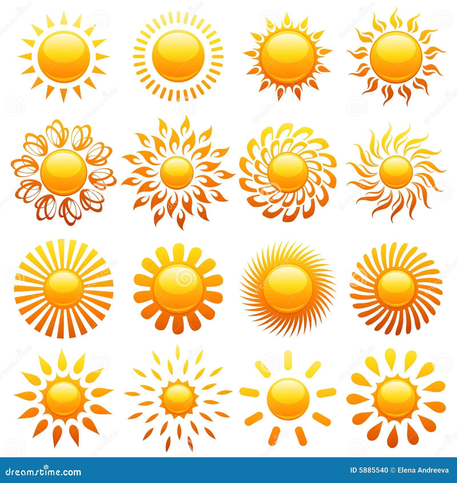 Elementy projektów słońca