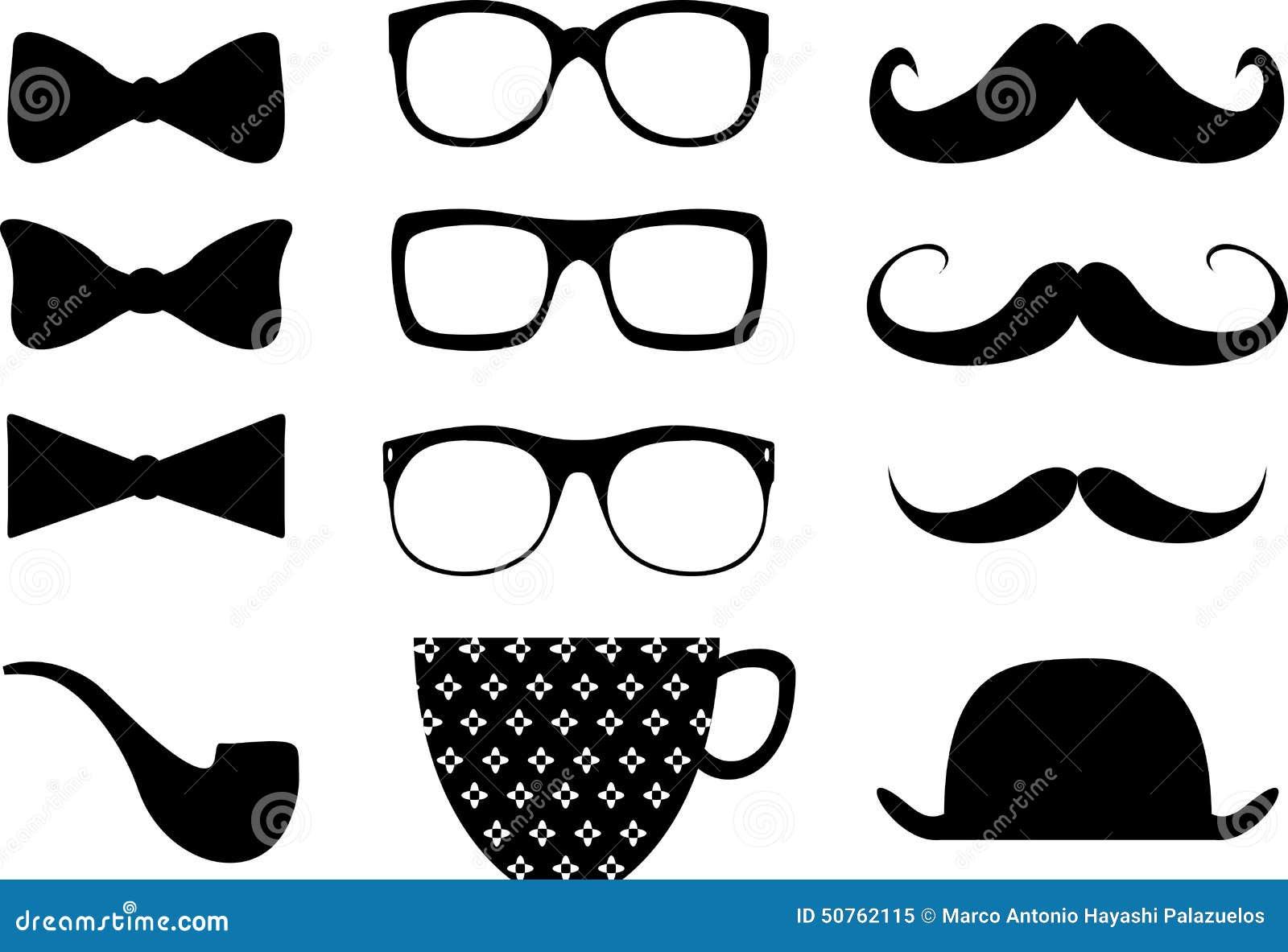 Elemments ύφους Hipster moustache se2