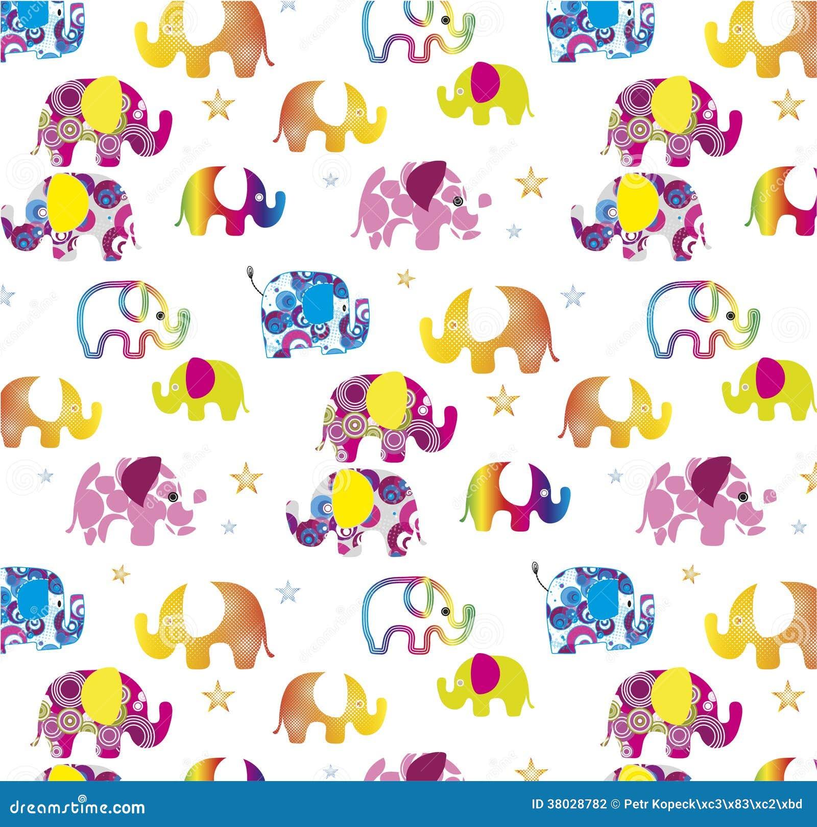 Elephant Background Stock Photography - Image: 38028782