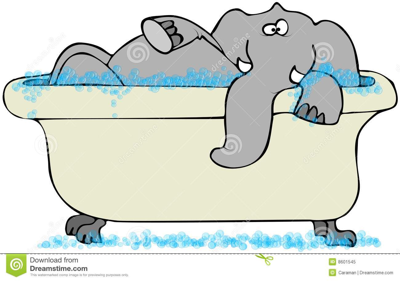 Brilliant Bathtub Illustration A Royalty Free Stock Photo With Decorating Ideas
