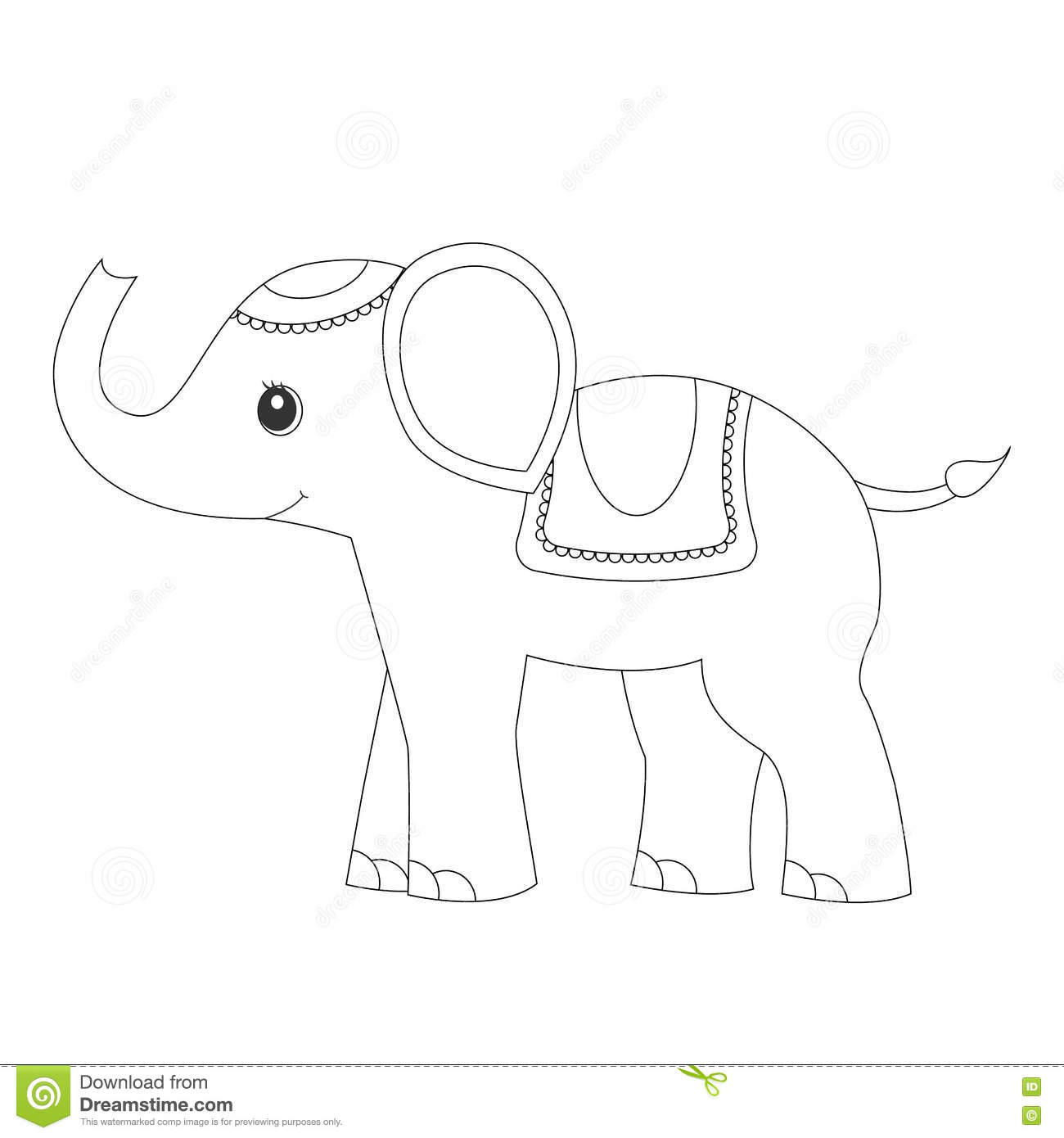 - Elephant.Coloring Page Coloring Pages For Adults Stock Vector